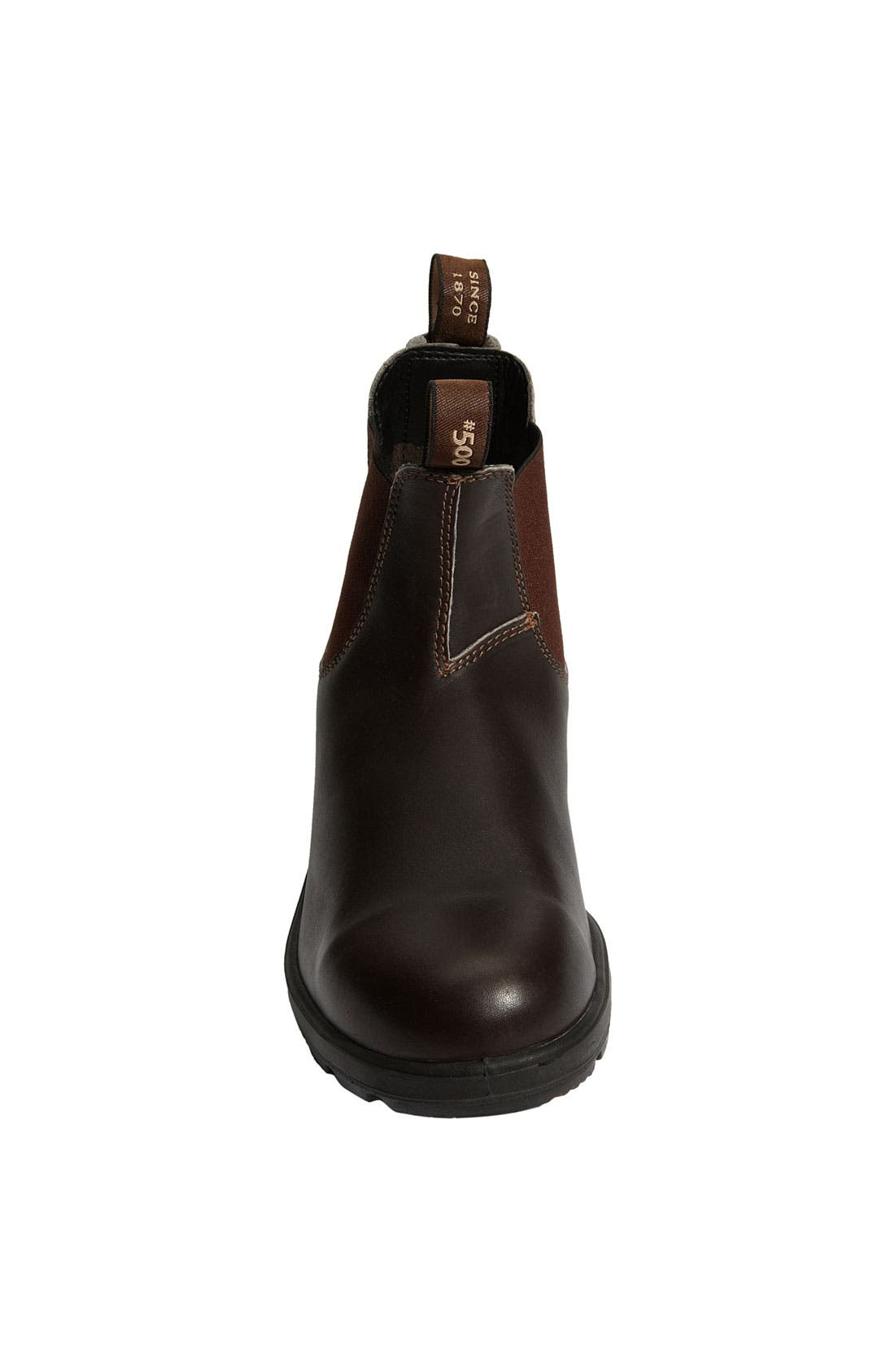 BLUNDSTONE FOOTWEAR, Classic Boot, Alternate thumbnail 4, color, STOUT BROWN