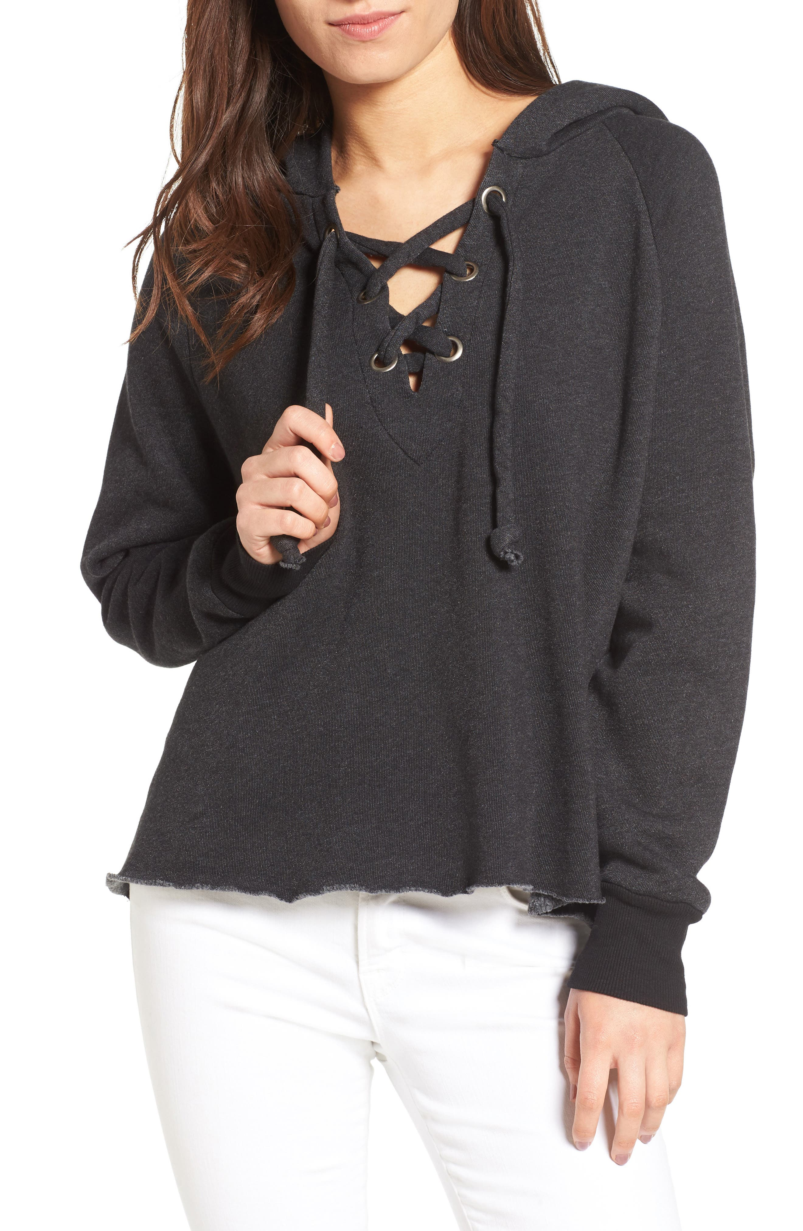 WILDFOX Hutton Sweatshirt, Main, color, 001