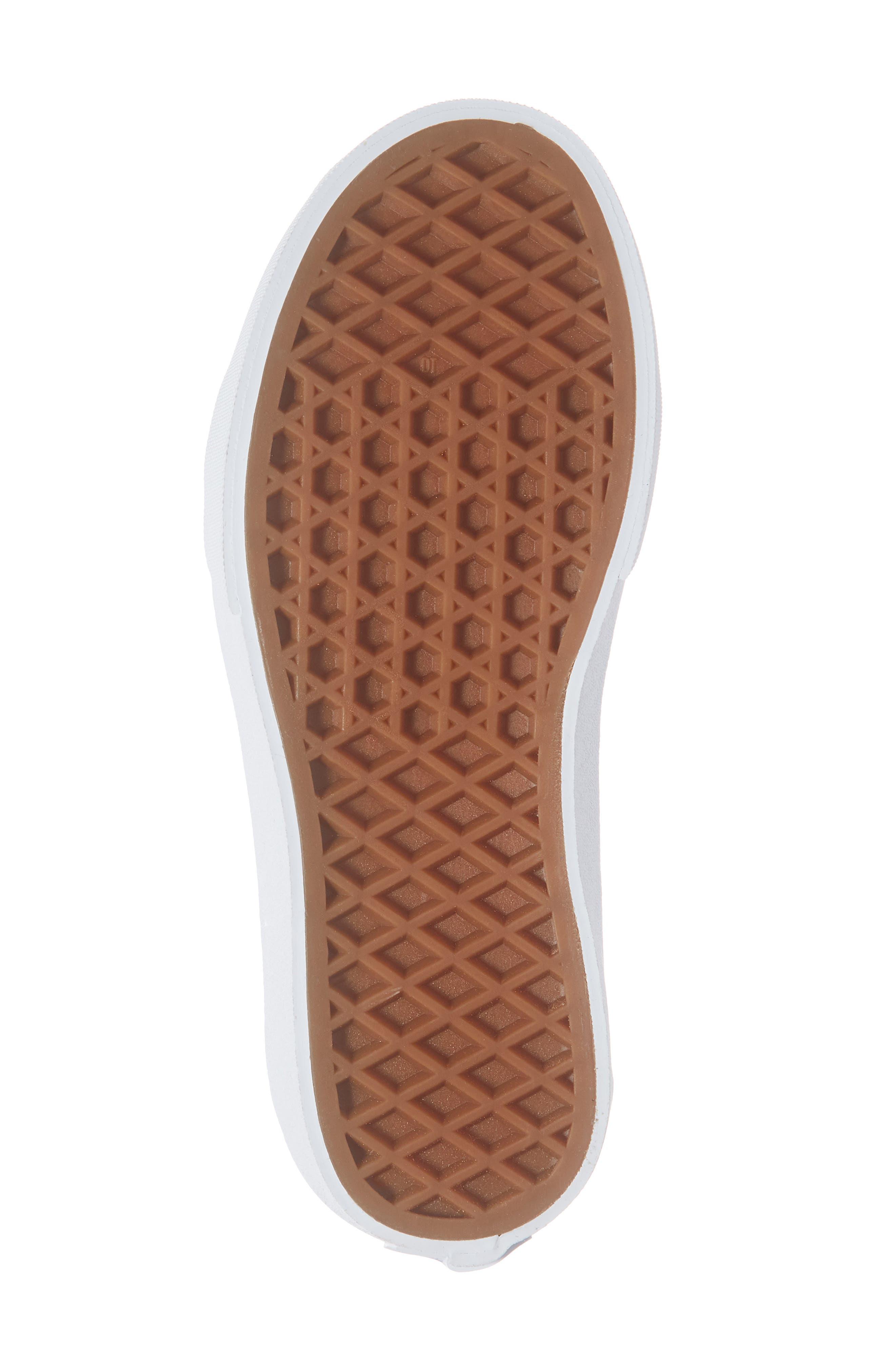 VANS, Sk8-Hi Zip Sneaker, Alternate thumbnail 6, color, TRUE BLUE/ TRUE WHITE