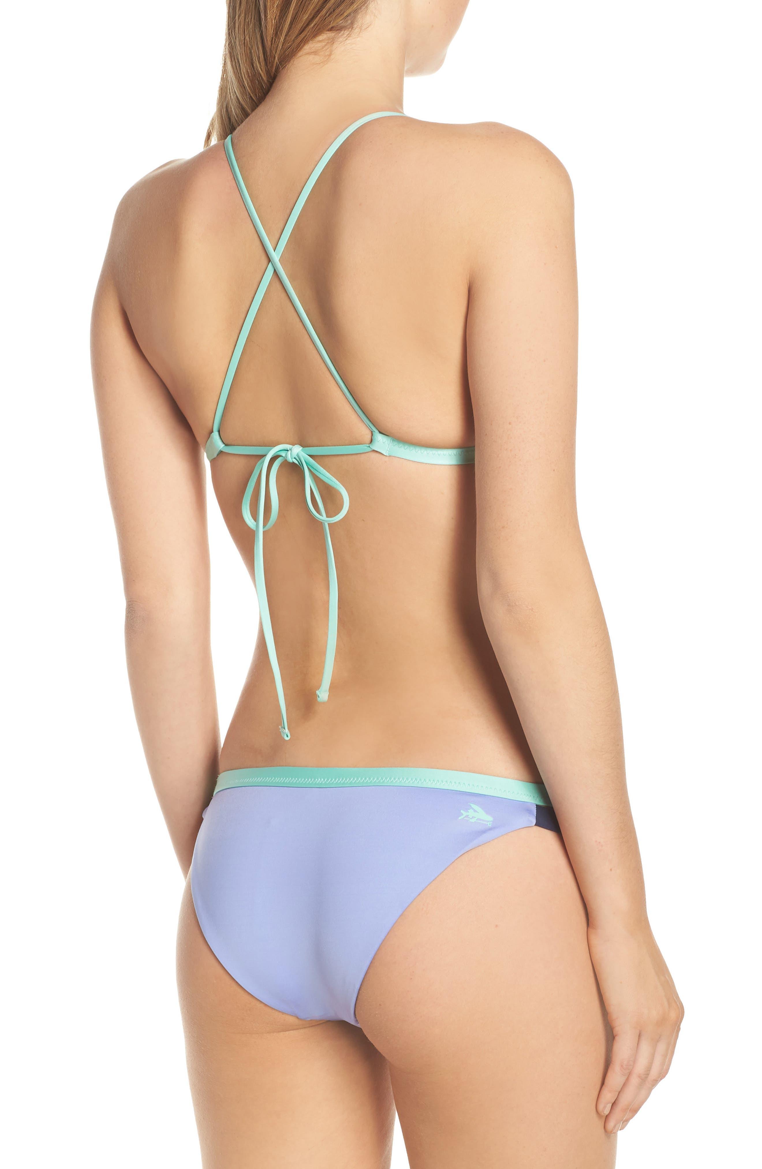 PATAGONIA, Nanogrip Bikini Bottoms, Alternate thumbnail 9, color, LIGHT VIOLET BLUE