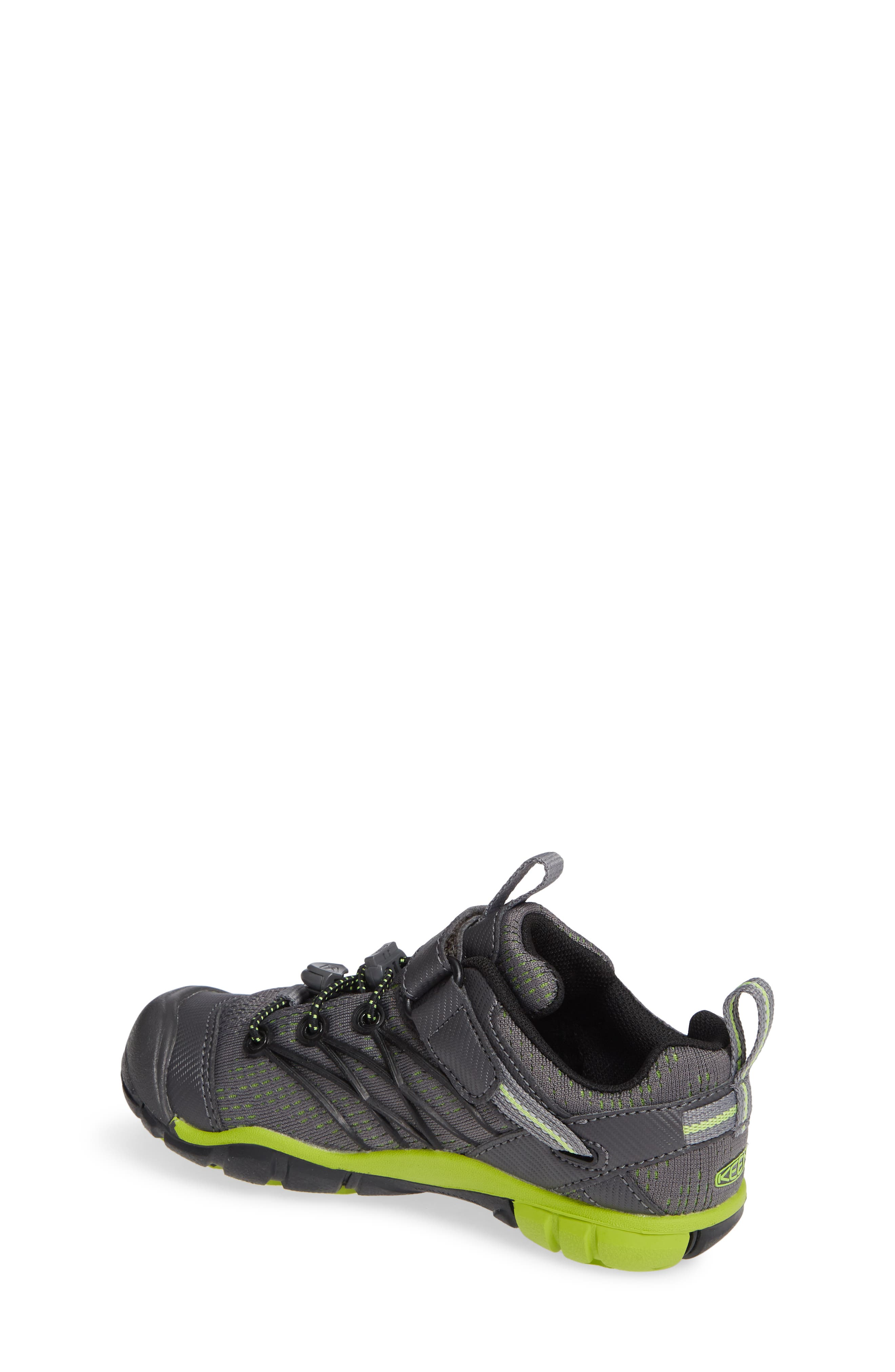 KEEN, 'Chandler CNX' Water Repellent Sneaker, Alternate thumbnail 2, color, MAGNET/ GREENERY