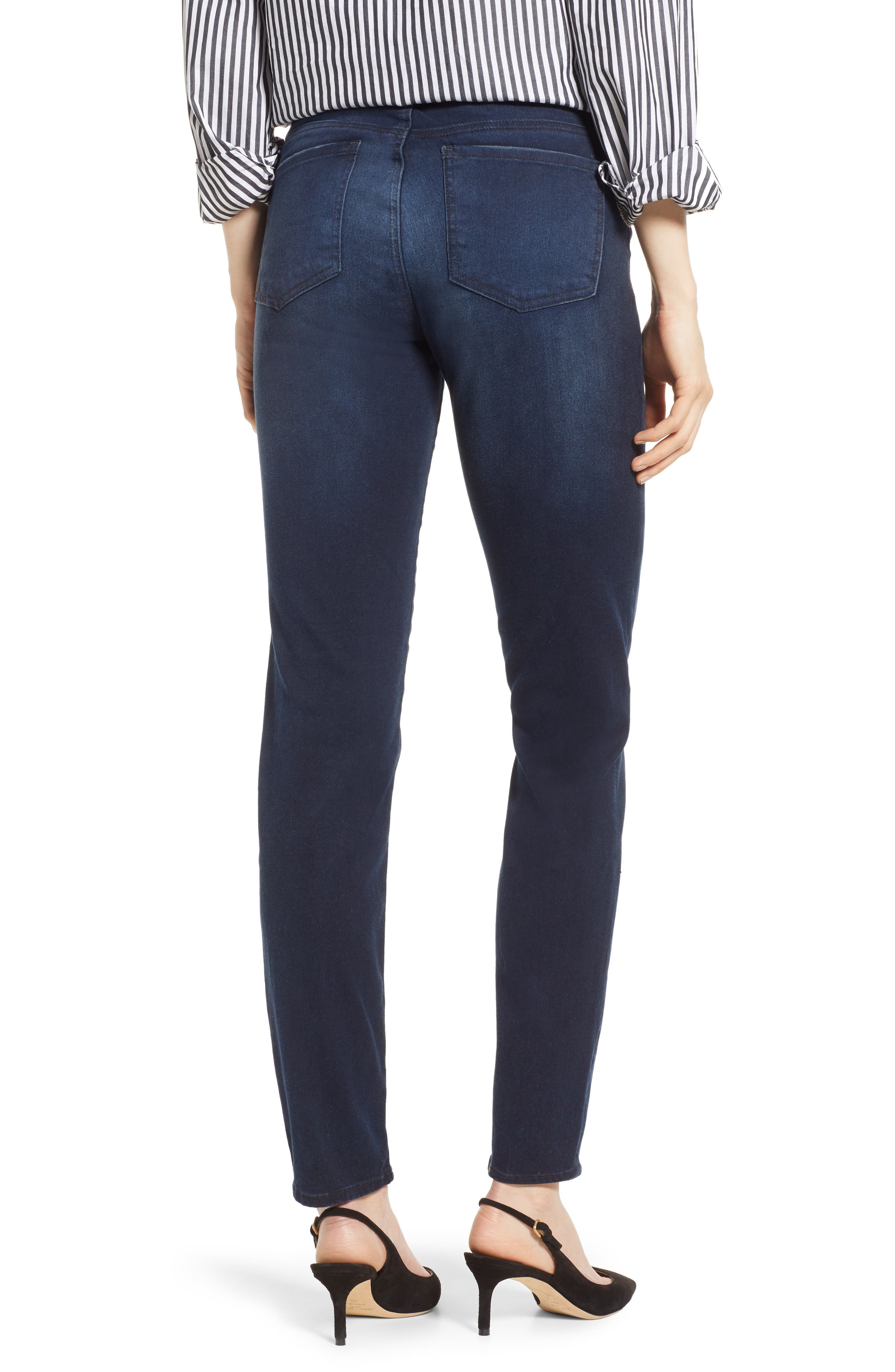 KUT FROM THE KLOTH, Diana Skinny Jeans, Alternate thumbnail 2, color, ART W/ EURO BASE WASH