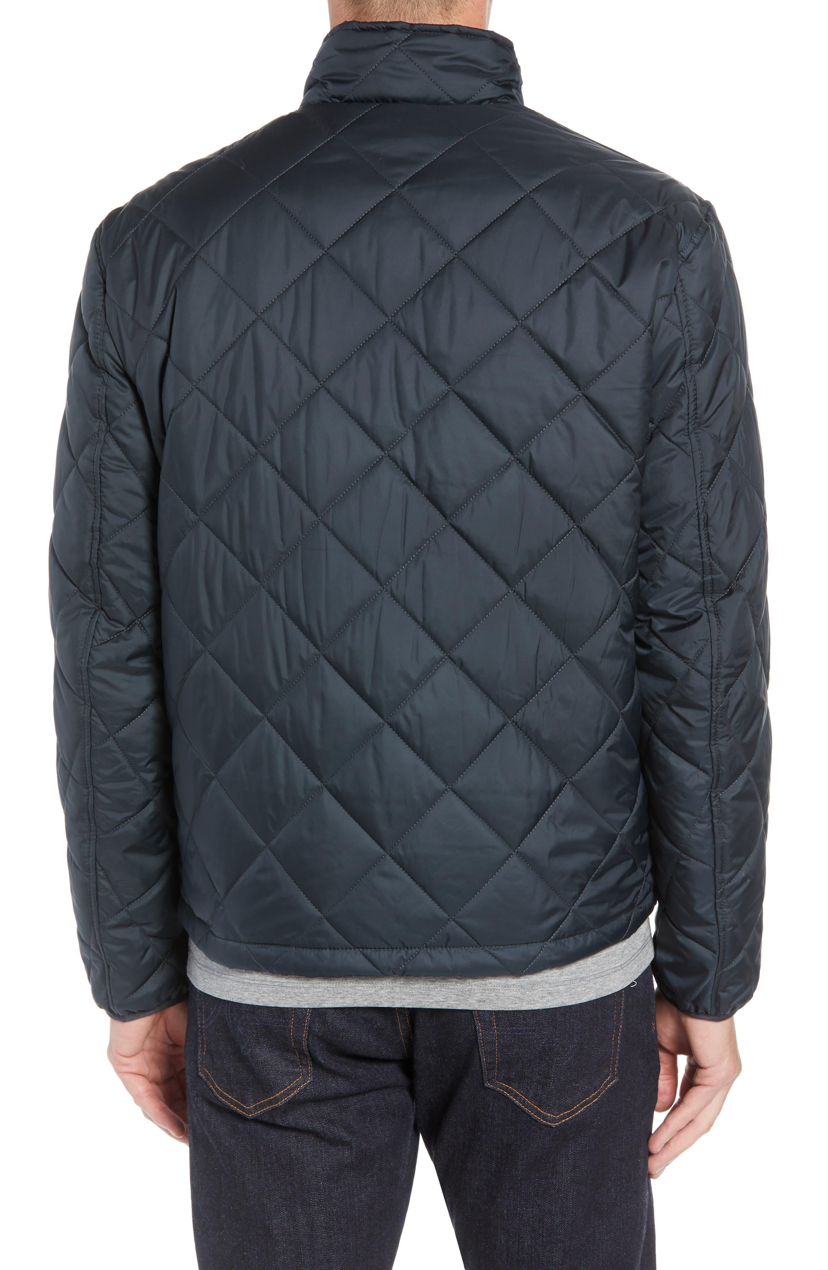 MARC NEW YORK, Humboldt Quilted Jacket, Alternate thumbnail 2, color, BLACK