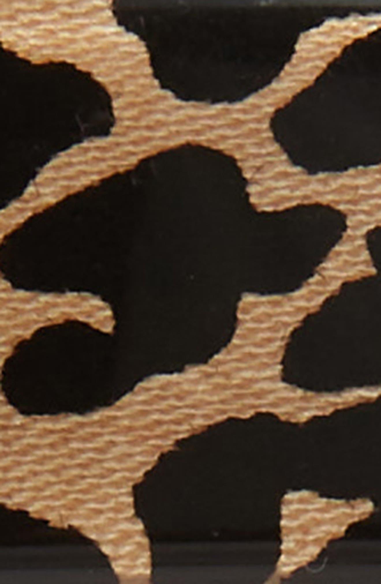 FRANCE LUXE, Rectangle Barrette, Alternate thumbnail 3, color, EL GATO BLACK/ TAN