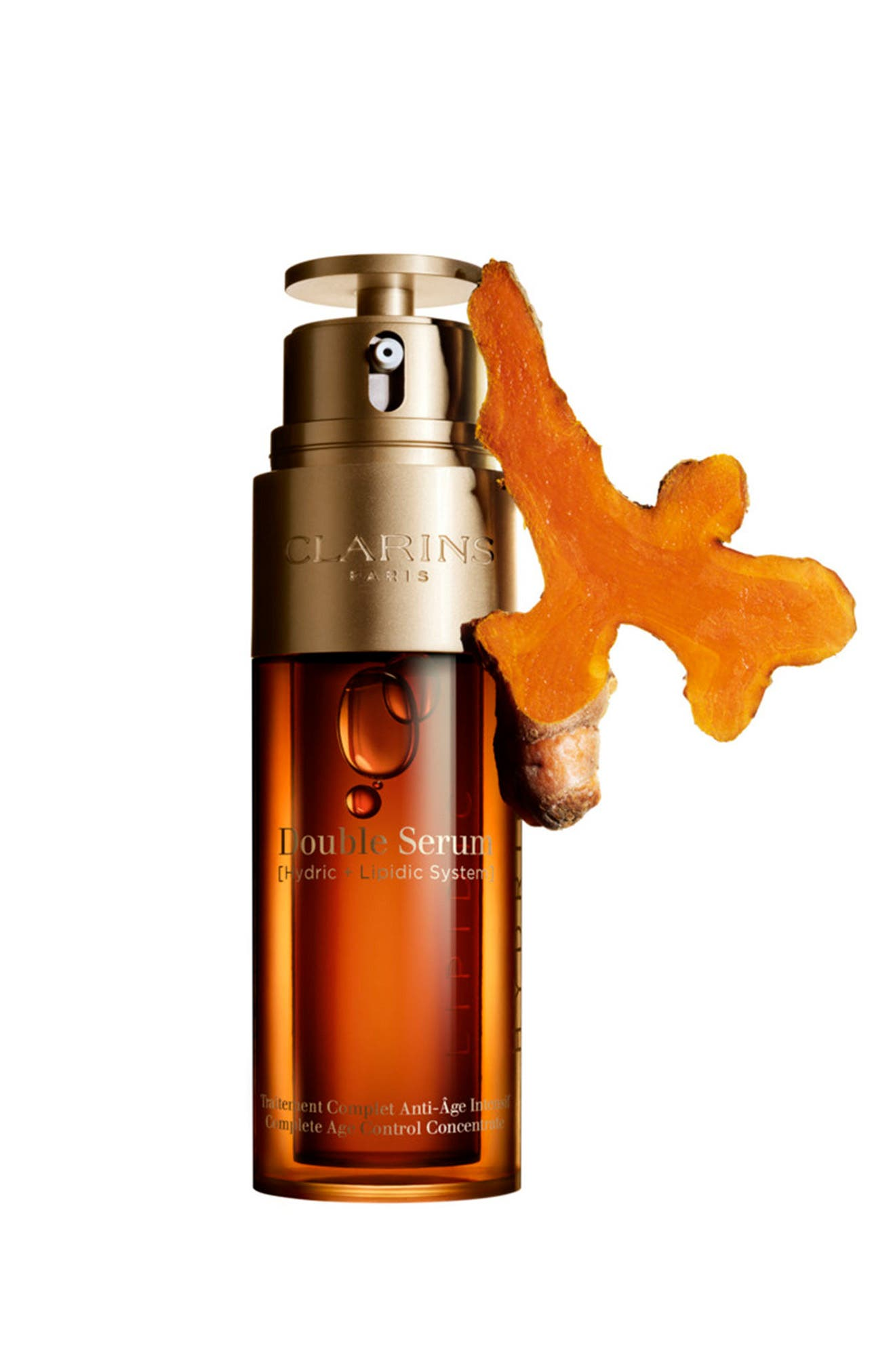 CLARINS, Double Serum Complete Age Control Concentrate, Alternate thumbnail 4, color, NO COLOR