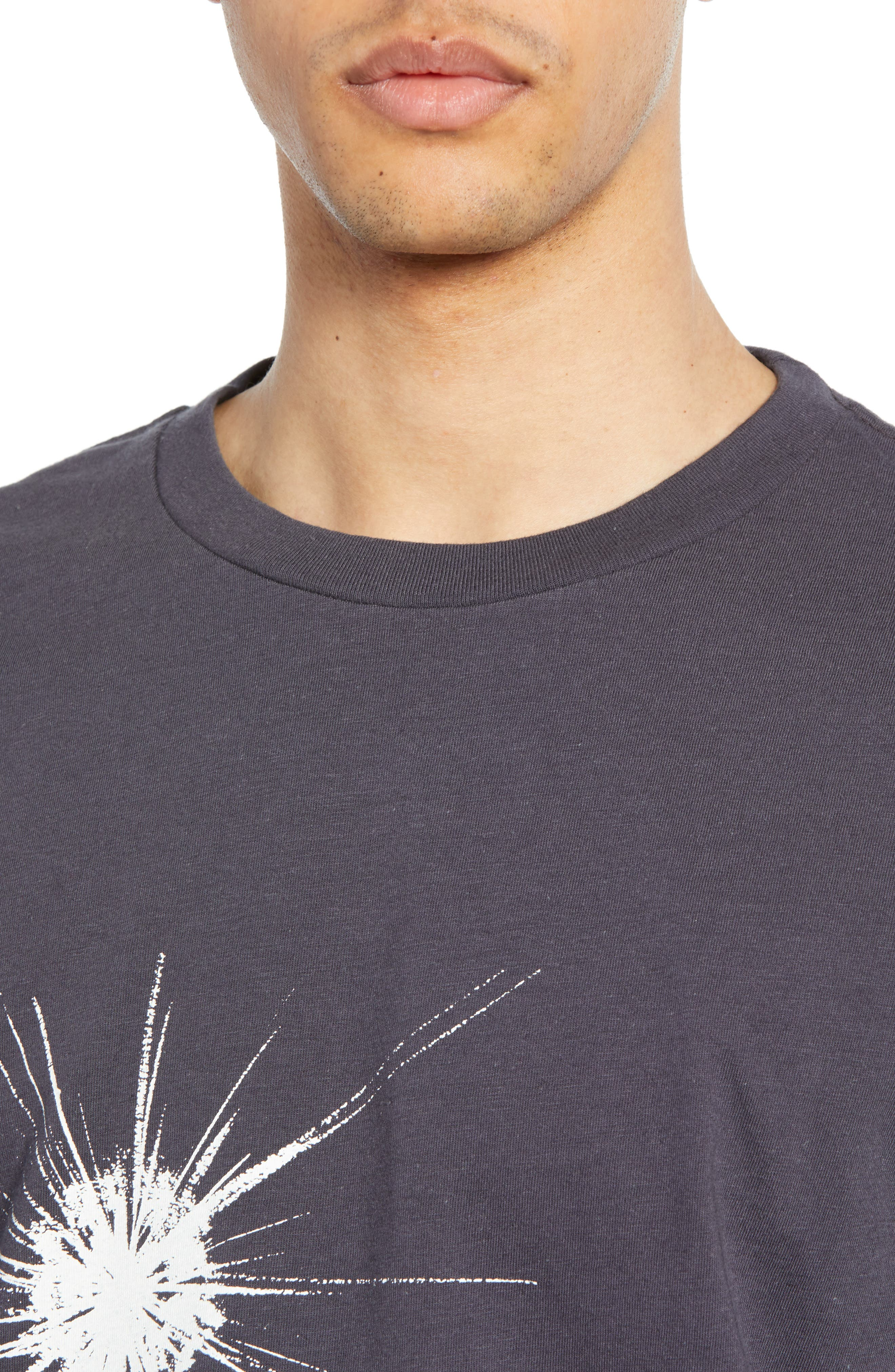 LEVI'S<SUP>®</SUP> VINTAGE CLOTHING, What Are Stars T-Shirt, Alternate thumbnail 4, color, WHAT ARE STARS BLACK