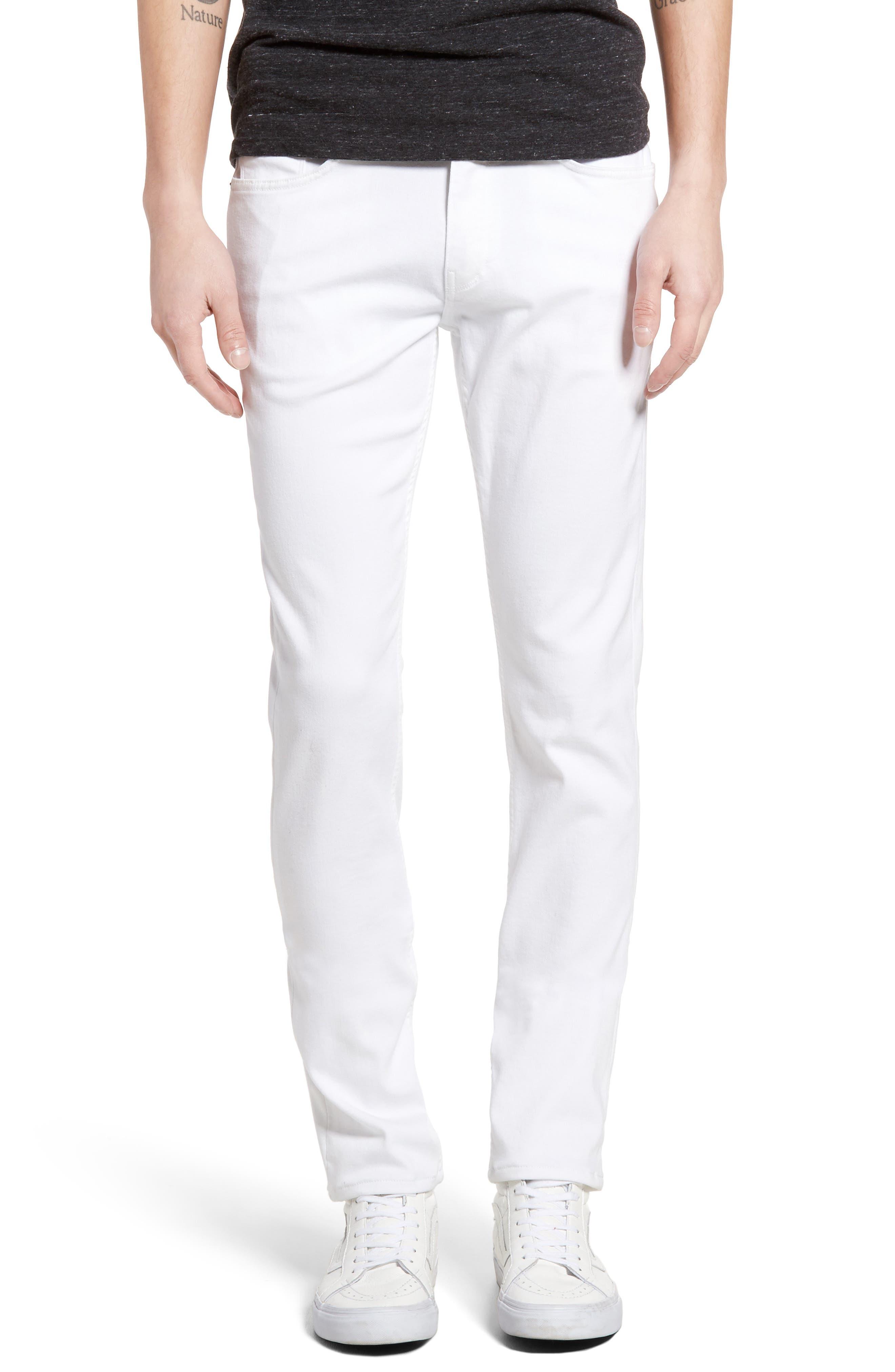 PAIGE Transcend - Lennox Slim Fit Jeans, Main, color, ICECAP