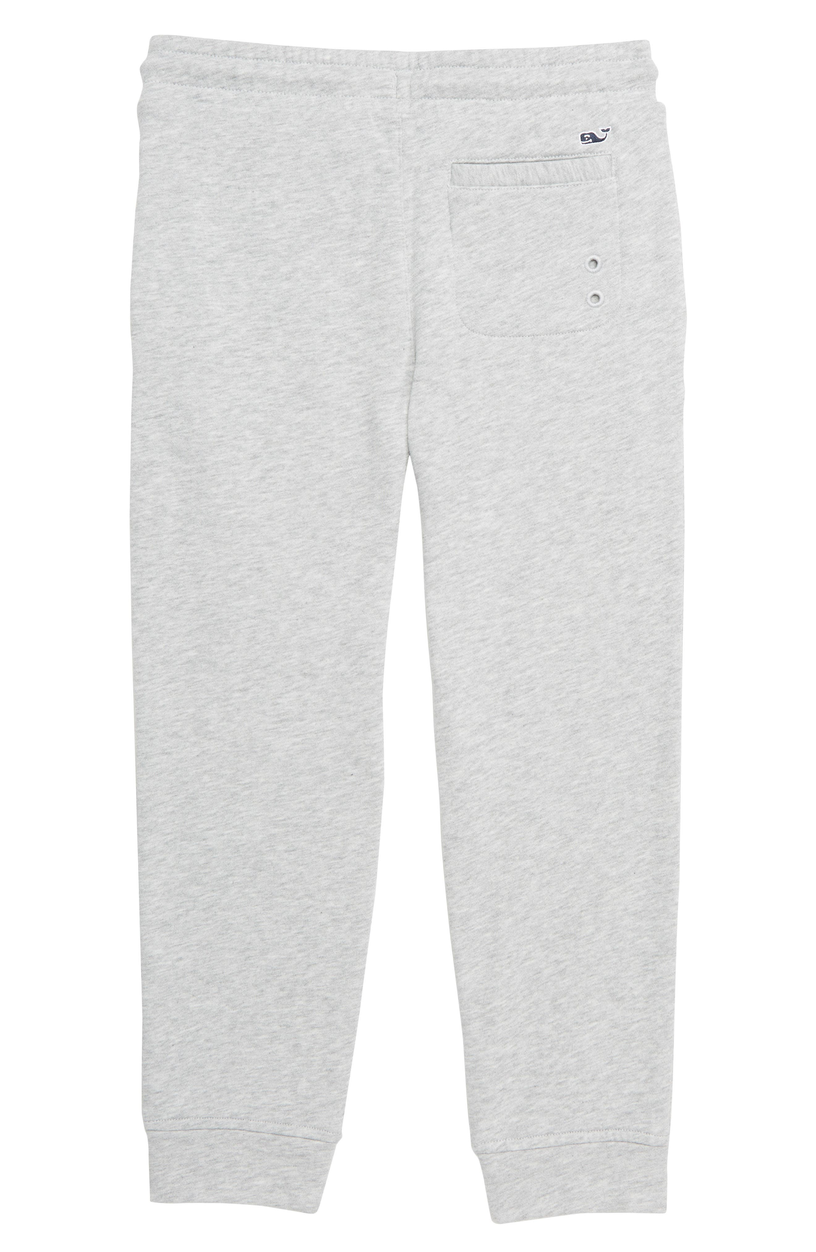 VINEYARD VINES, Go Knit Jogger Sweatpants, Alternate thumbnail 2, color, MEDIUM HEATHER GRAY