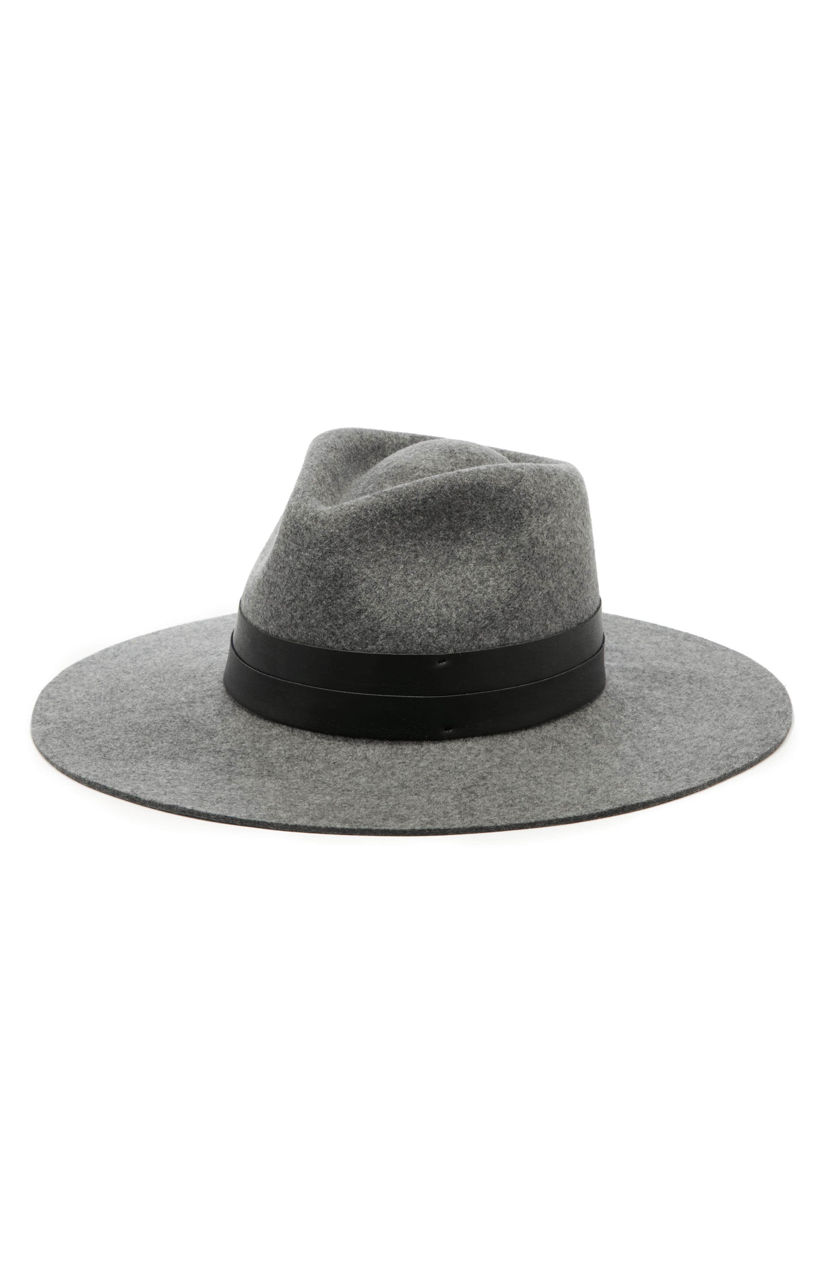 SOLE SOCIETY, Wide Brim Hat, Main thumbnail 1, color, 020