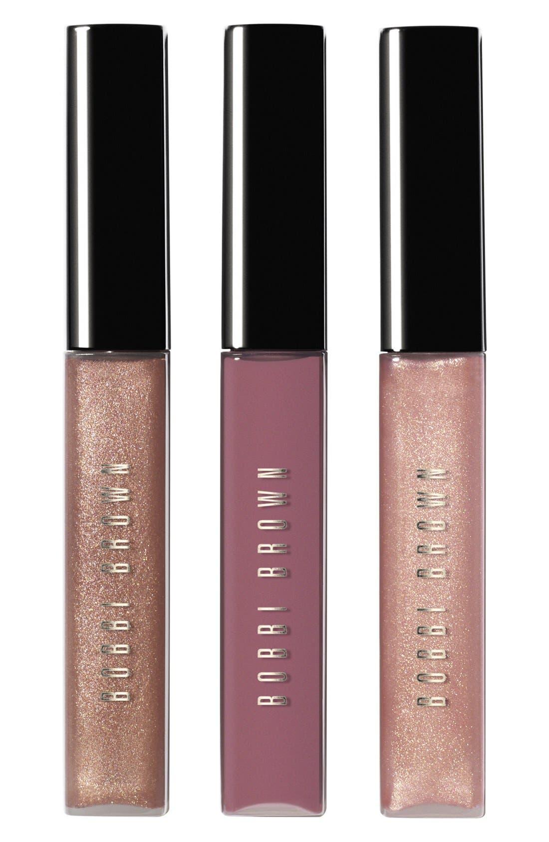 BOBBI BROWN Limited Edition Lip Gloss Trio, Main, color, 650