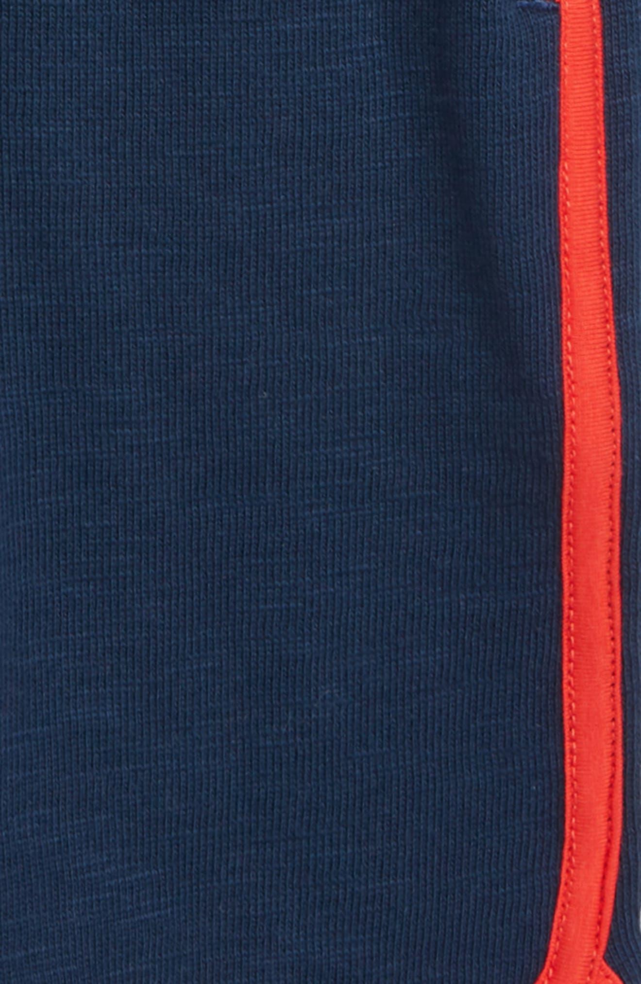 HATLEY, Athletic Shorts, Alternate thumbnail 2, color, BLUE
