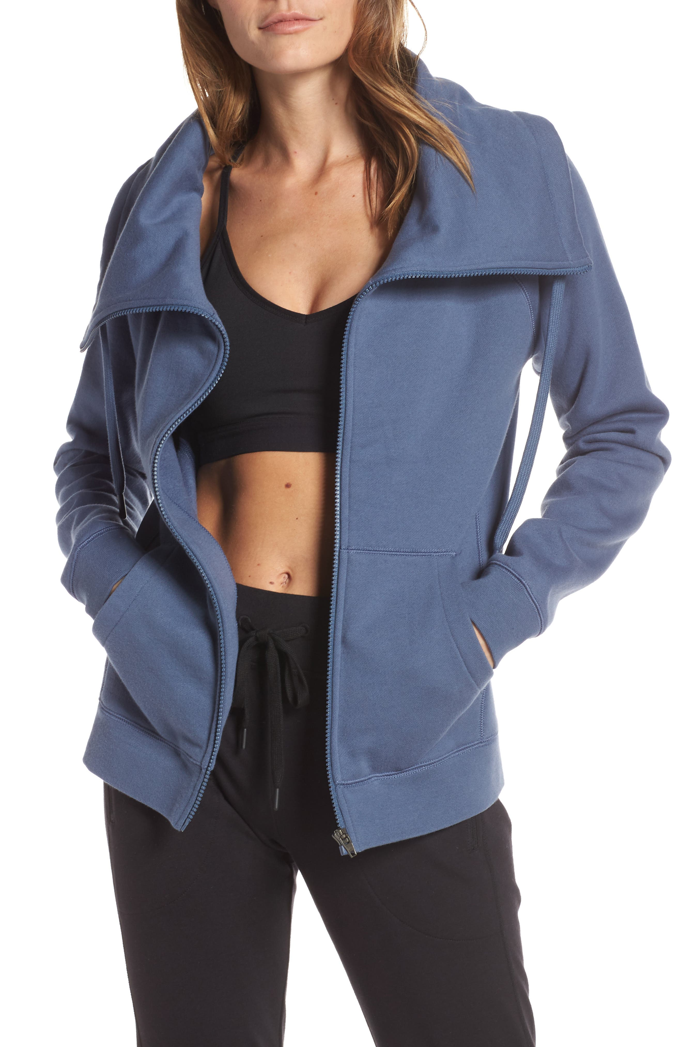 ZELLA Old School Daydream Jacket, Main, color, BLUE VINTAGE