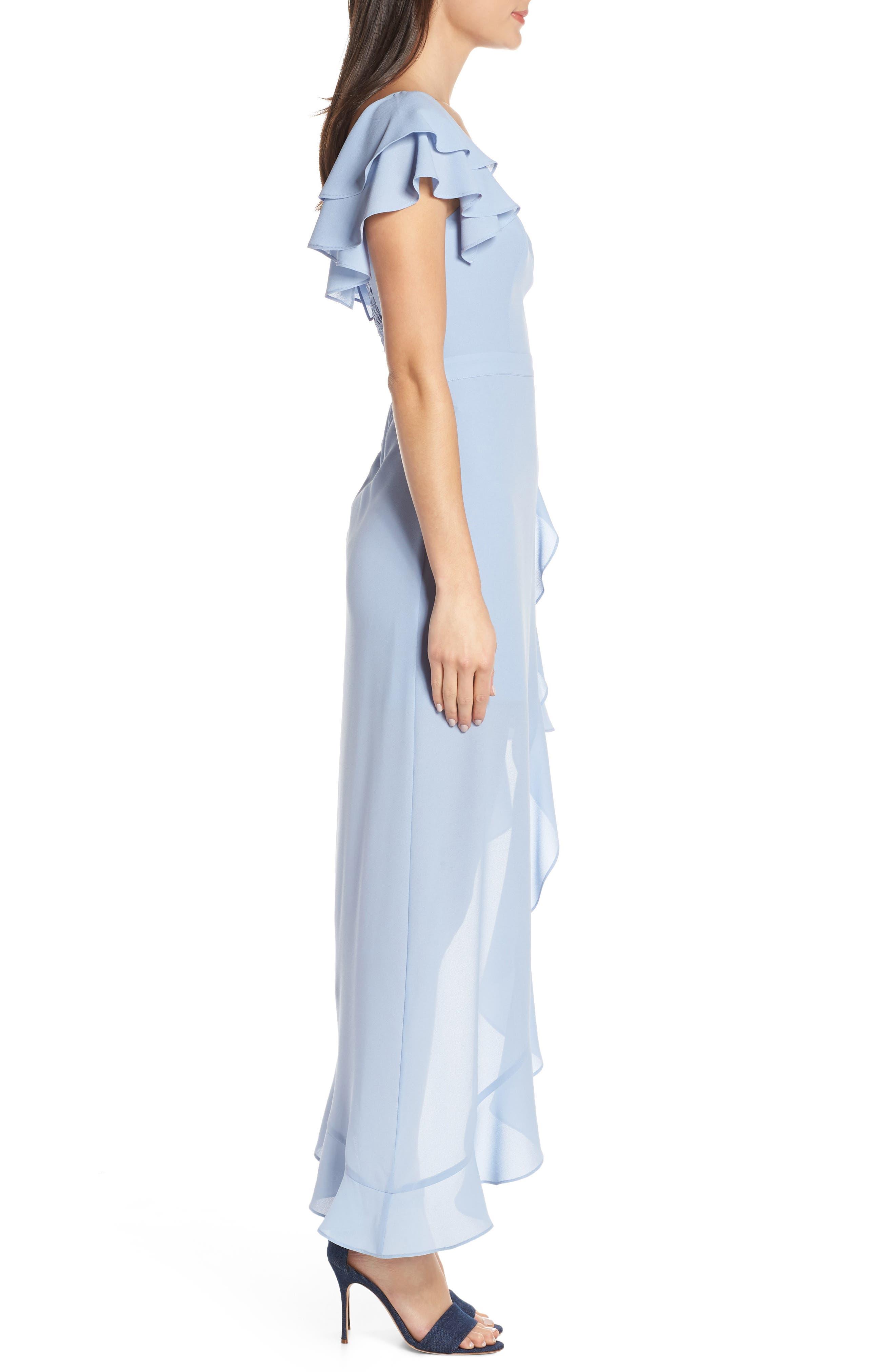 ALI & JAY, Terrace Time Asymmetrical Maxi Dress, Alternate thumbnail 4, color, 400