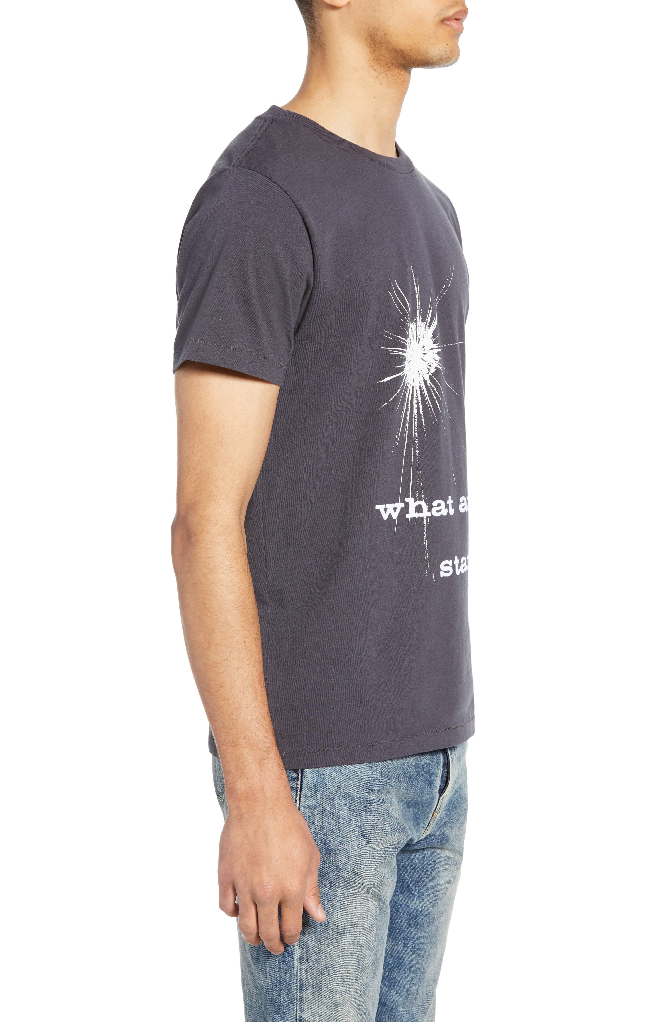 LEVI'S<SUP>®</SUP> VINTAGE CLOTHING, What Are Stars T-Shirt, Alternate thumbnail 3, color, WHAT ARE STARS BLACK