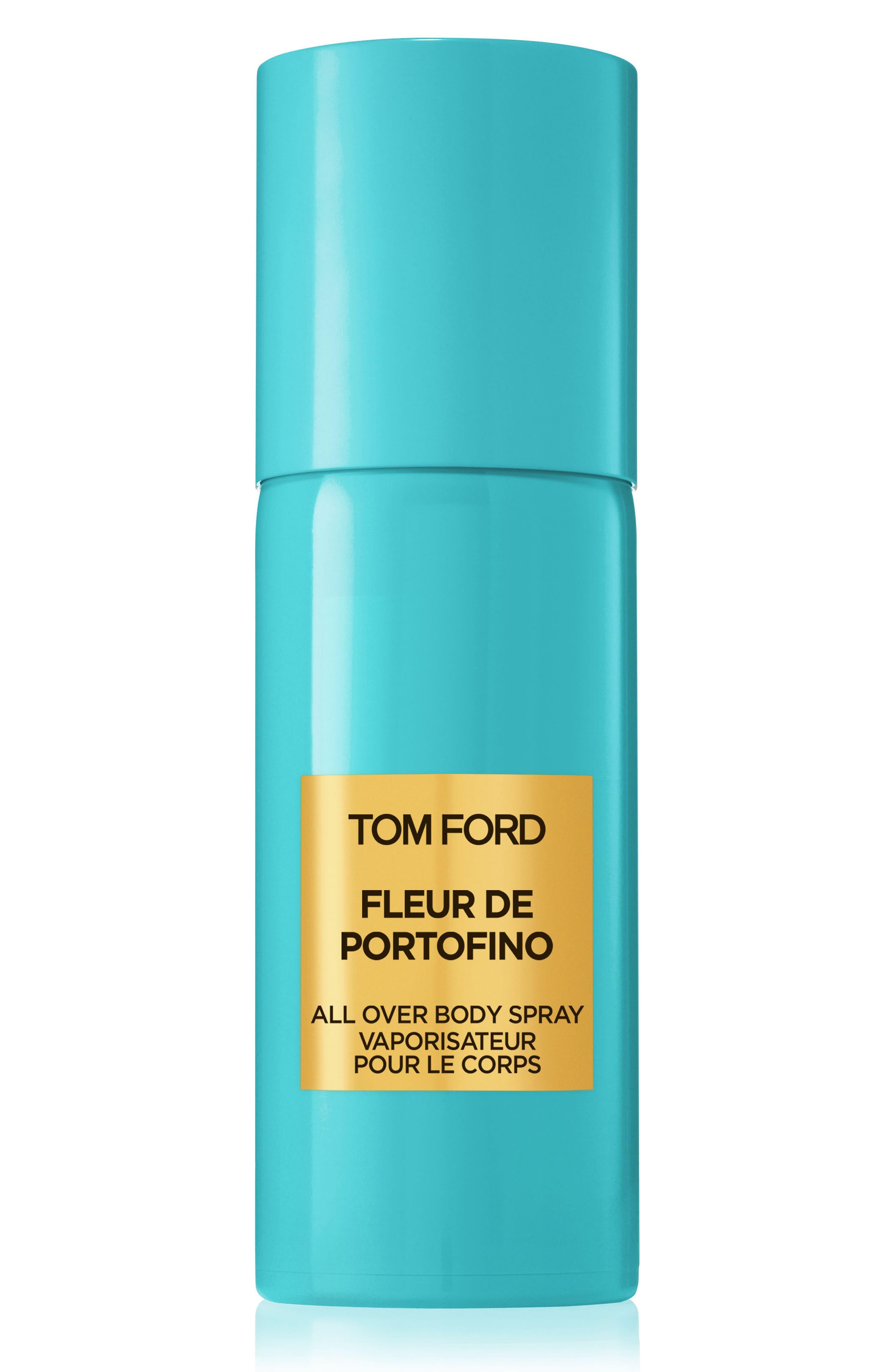 TOM FORD, Private Blend Fleur de Portofino Eau de Parfum All Over Body Spray, Main thumbnail 1, color, NO COLOR