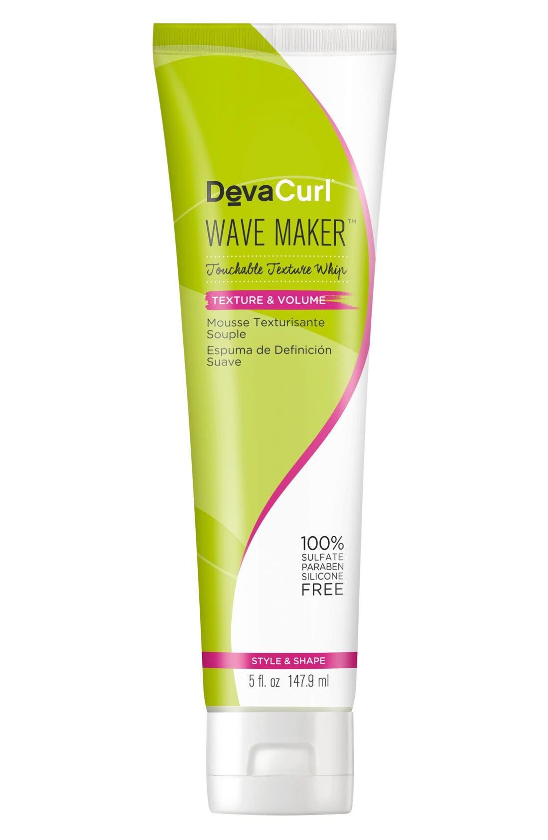 DEVACURL, Wave Maker Touchable Texture Whip, Main thumbnail 1, color, NO COLOR