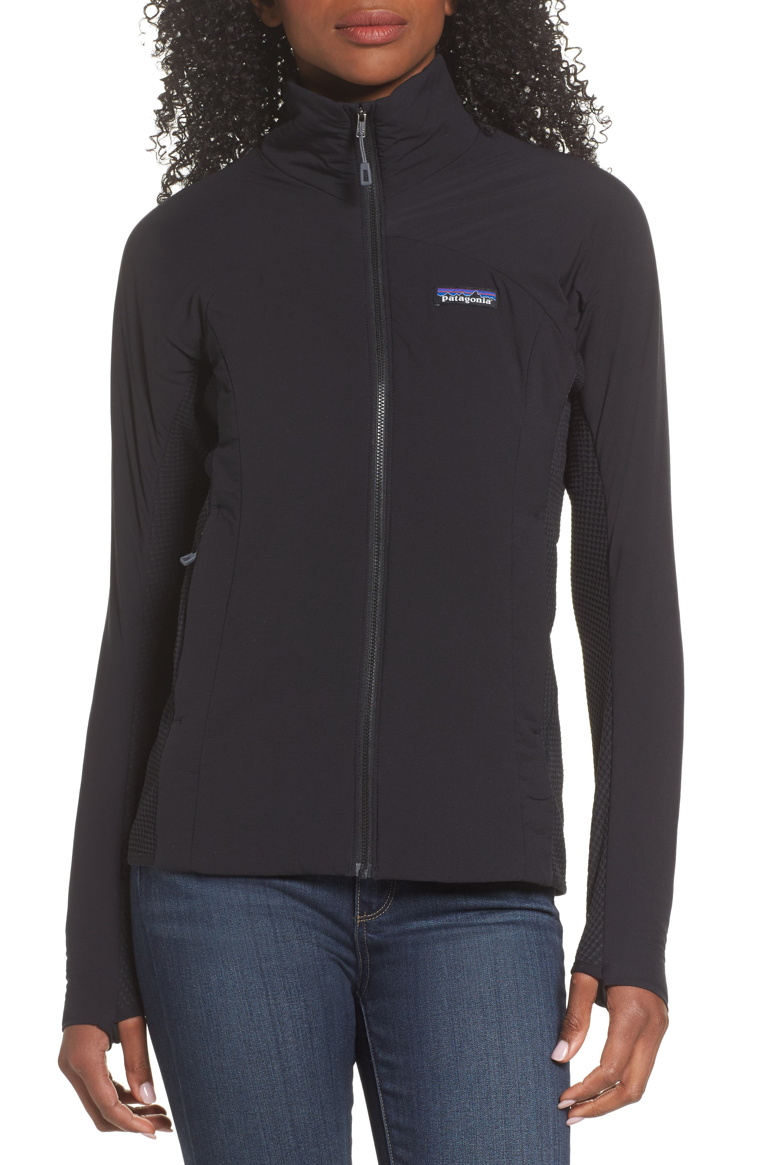 PATAGONIA, Nano-Air<sup>®</sup> Light Hybrid Jacket, Alternate thumbnail 4, color, BLACK
