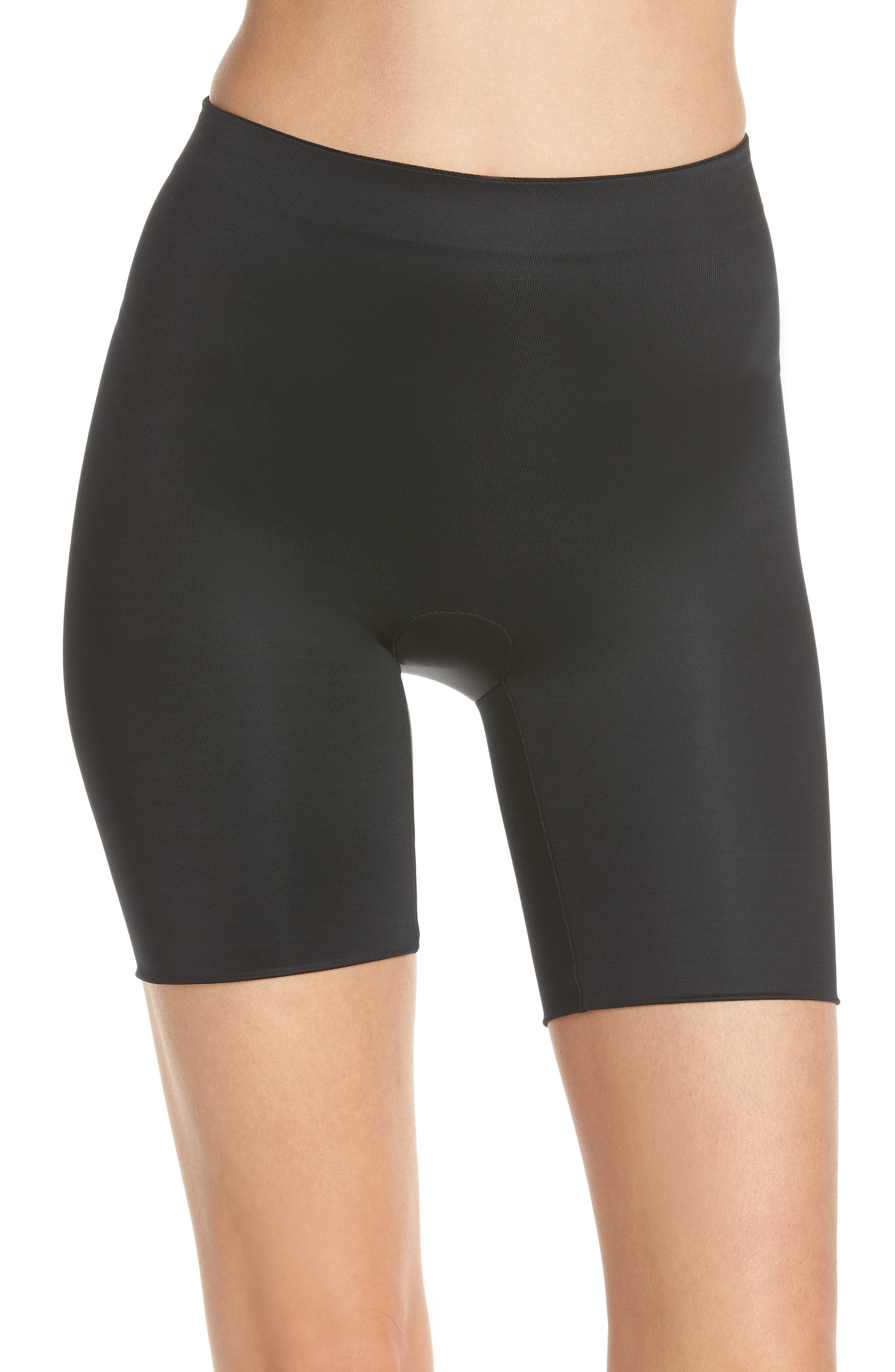 SPANX<SUP>®</SUP>, Suit Your Fancy Butt Enhancer Shorts, Main thumbnail 1, color, VERY BLACK