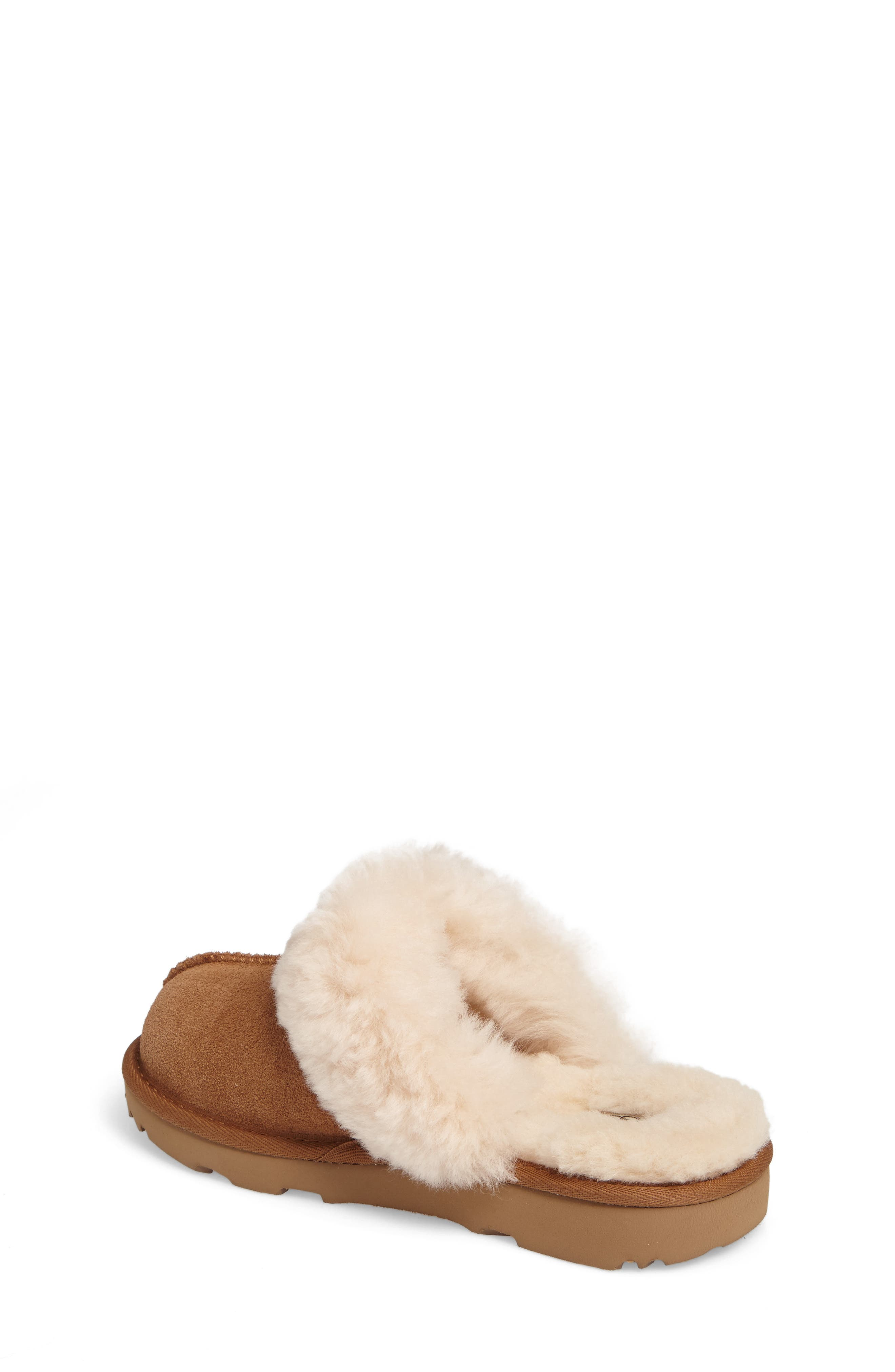 UGG<SUP>®</SUP>, Cozy II Scuff Slipper, Alternate thumbnail 2, color, CHESTNUT