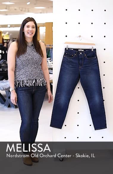 Wedgie Icon Fit High Waist Crop Jeans, sales video thumbnail