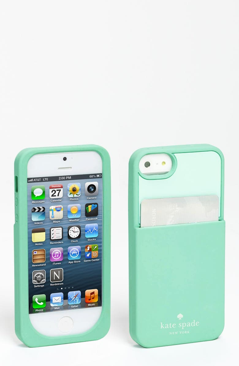 newest 31c4c b7a40 'color block' card holder iPhone 5 & 5S case