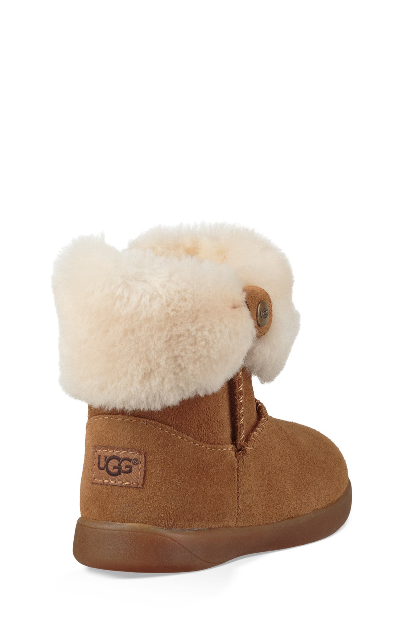 UGG<SUP>®</SUP>, Ramona Classic Short Boot, Alternate thumbnail 2, color, CHESTNUT