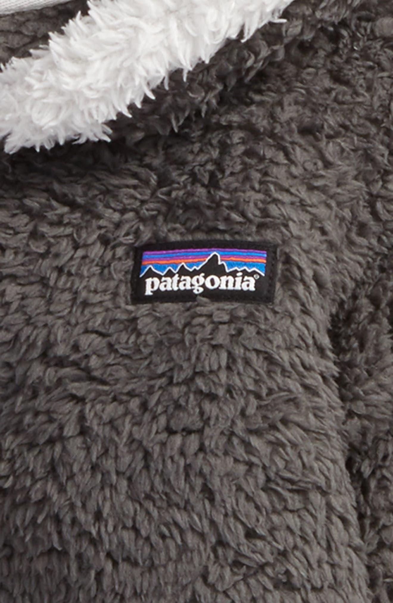 PATAGONIA, Furry Friends Zip Hoodie, Alternate thumbnail 2, color, 020