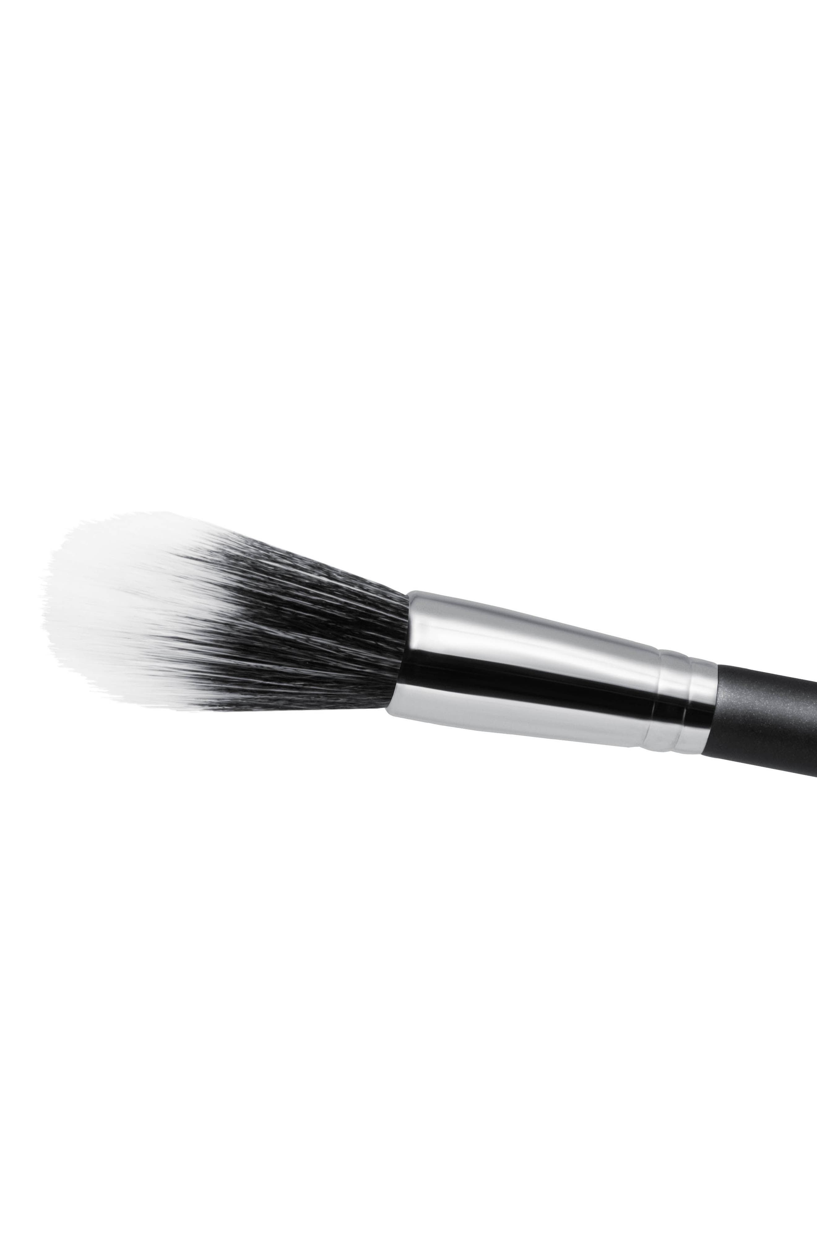 MAC COSMETICS, MAC 139S Synthetic Duo Fibre Tapered Face Brush, Alternate thumbnail 2, color, NO COLOR