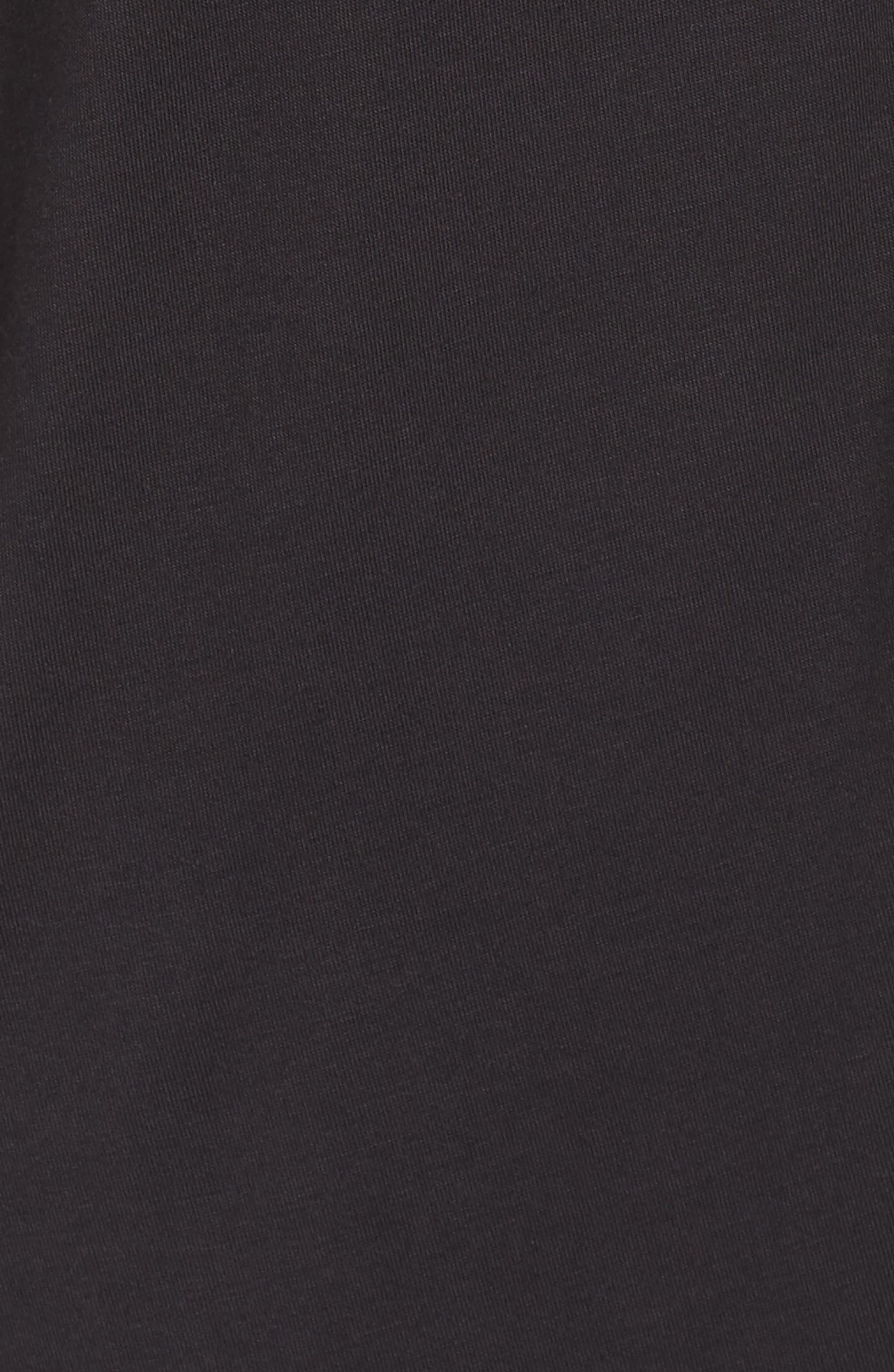 UGG<SUP>®</SUP>, Vivian Sleep Shirt, Alternate thumbnail 5, color, BLACK