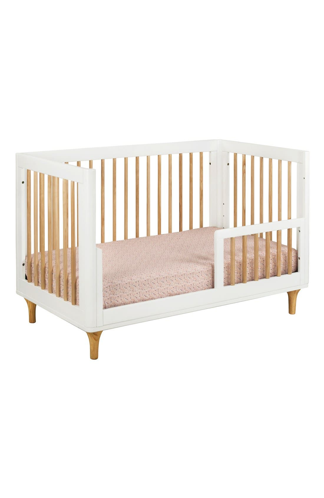 BABYLETTO, 'Lolly' 3-in-1 Convertible Crib, Alternate thumbnail 3, color, 250