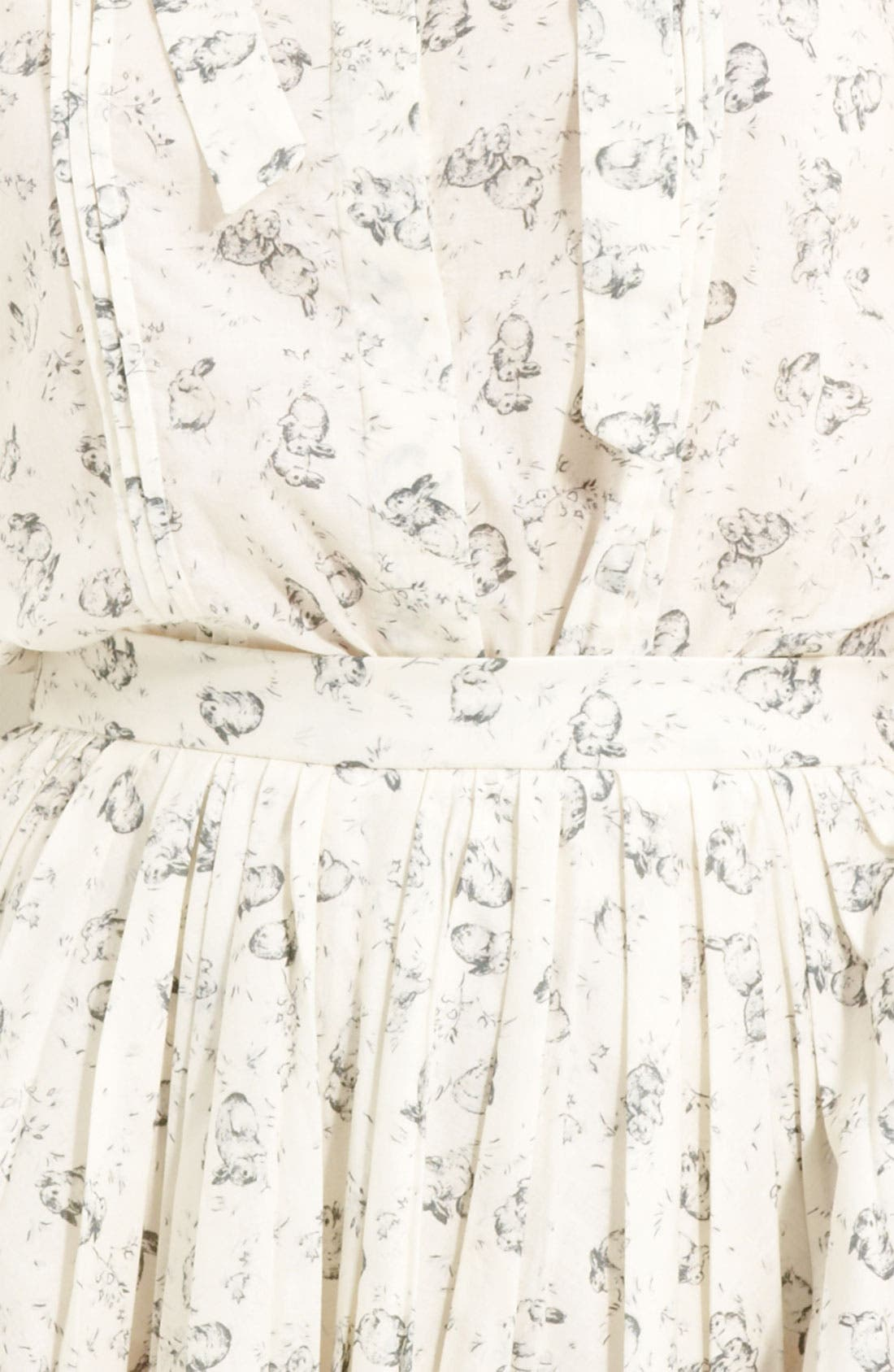 BOY. BY BAND OF OUTSIDERS, Band of Outsiders Rabbit Print Sleeveless Top, Alternate thumbnail 2, color, 110