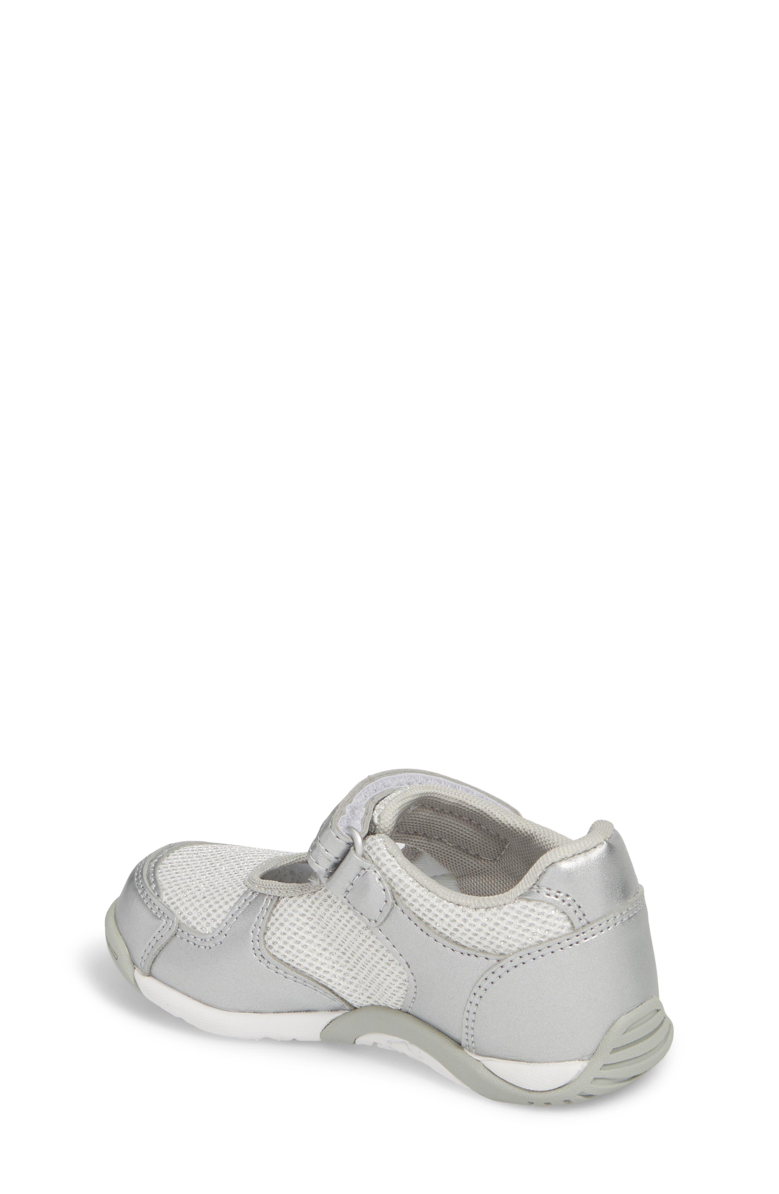 TSUKIHOSHI, Twinkle Washable Sneaker, Alternate thumbnail 2, color, SILVER/ SILVER