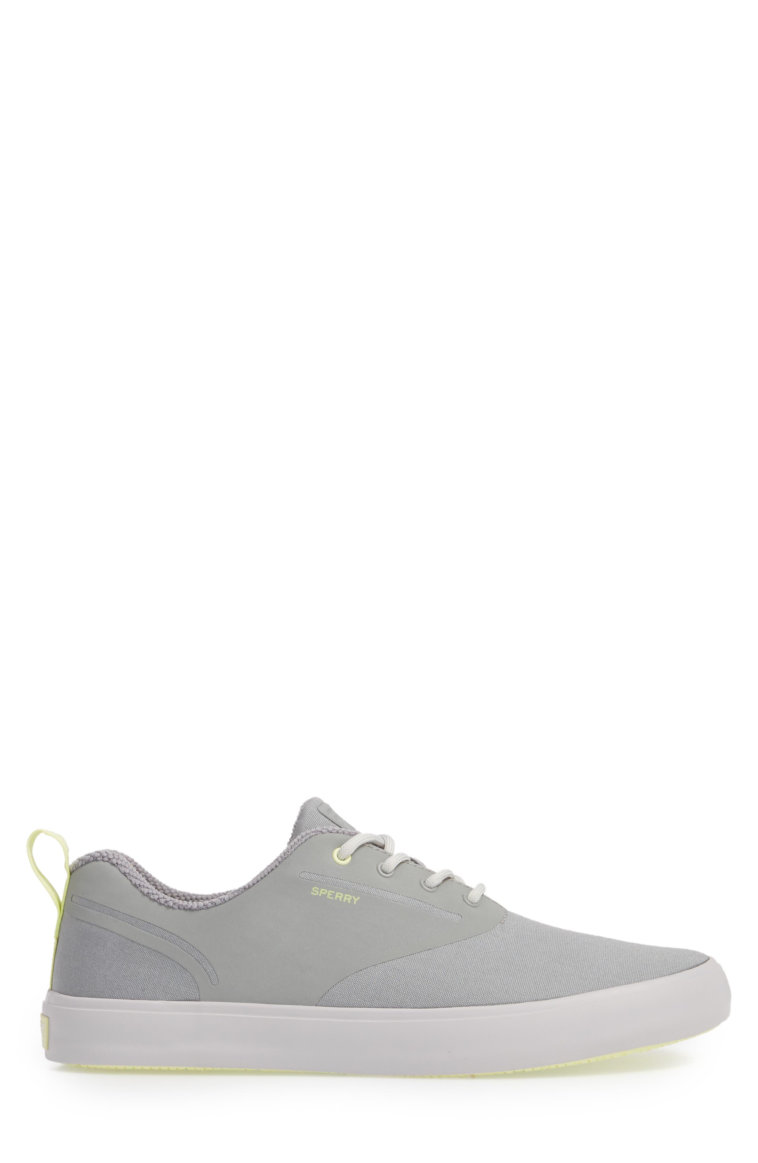 SPERRY, Flex Deck CVO Sneaker, Alternate thumbnail 3, color, GREY