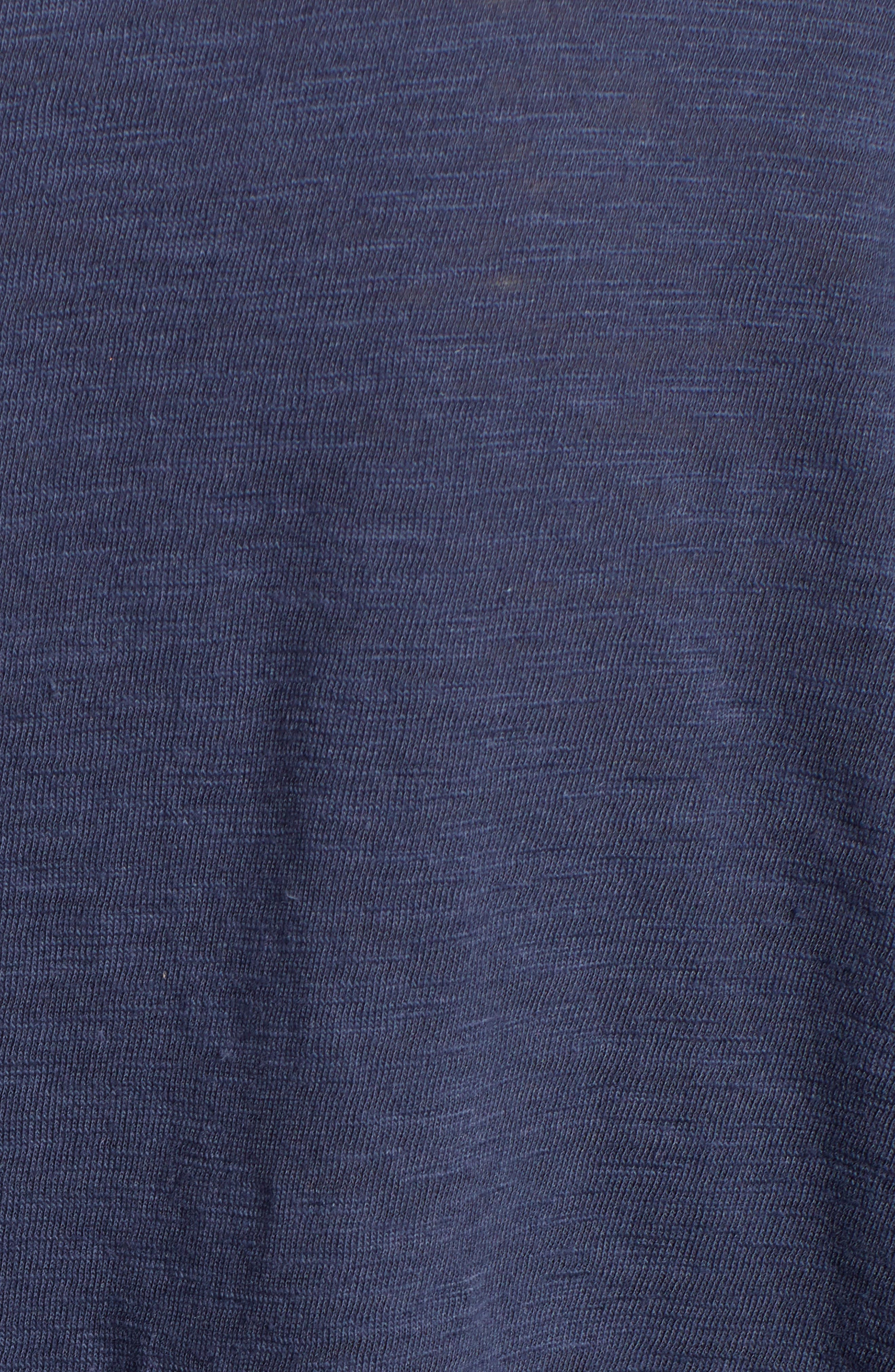 CASLON<SUP>®</SUP>, Off-Duty Dolman Sleeve Tee, Alternate thumbnail 5, color, NAVY PEACOAT