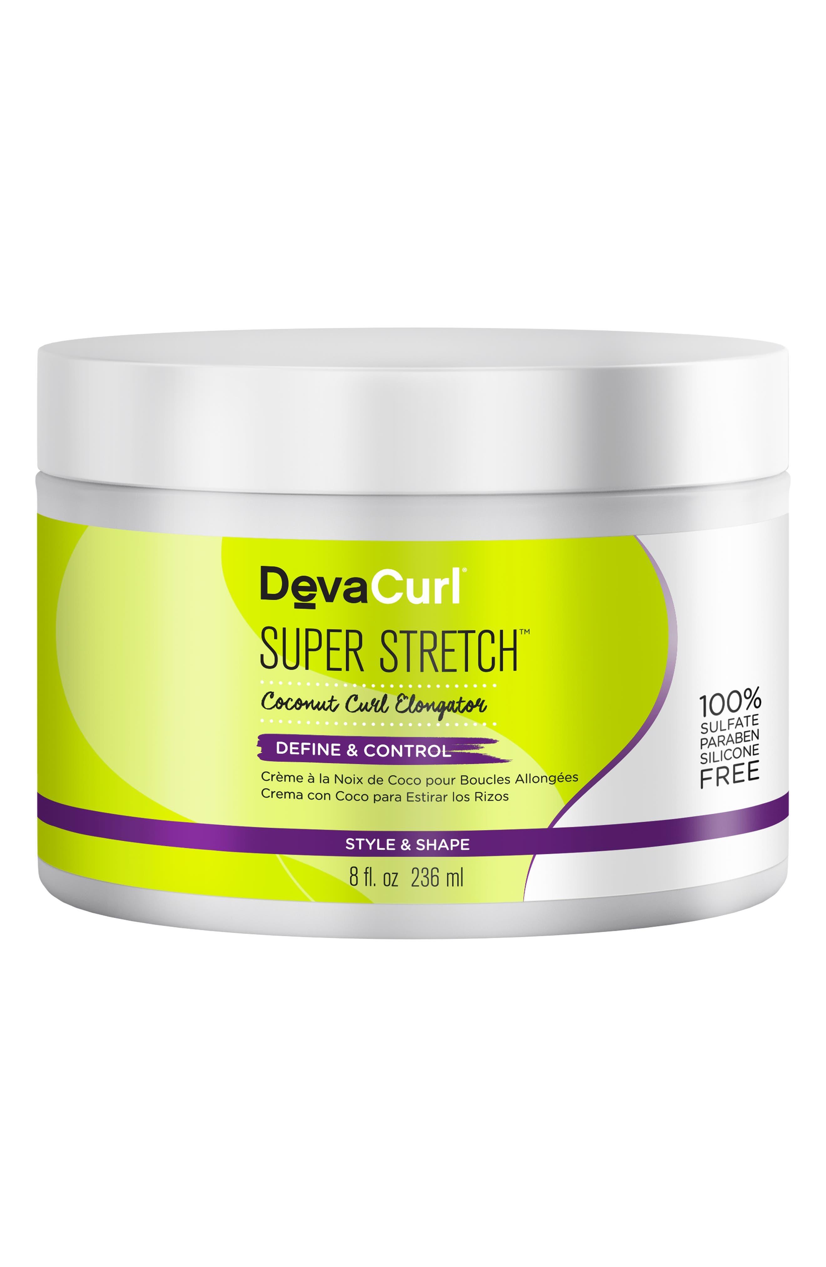 DEVACURL, Super Stretch Coconut Curl Elongator, Main thumbnail 1, color, NO COLOR