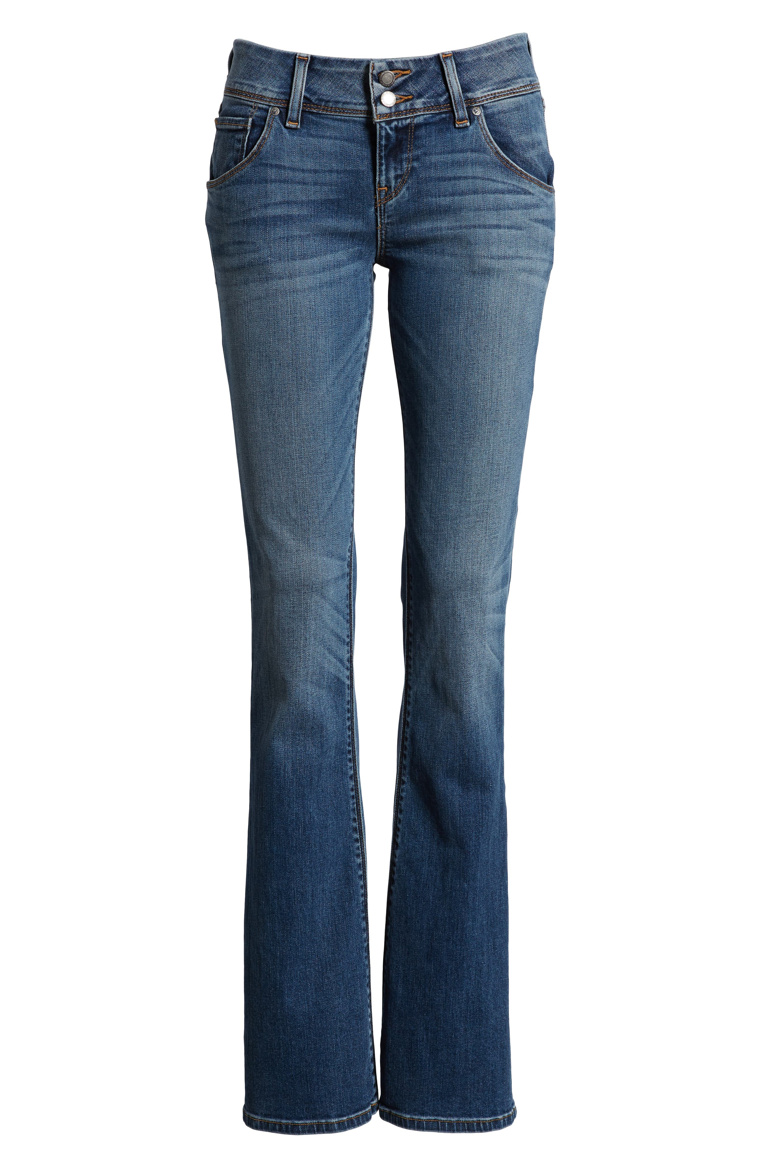 HUDSON JEANS, Signature Bootcut Jeans, Alternate thumbnail 7, color, OLYMPIC BLVD