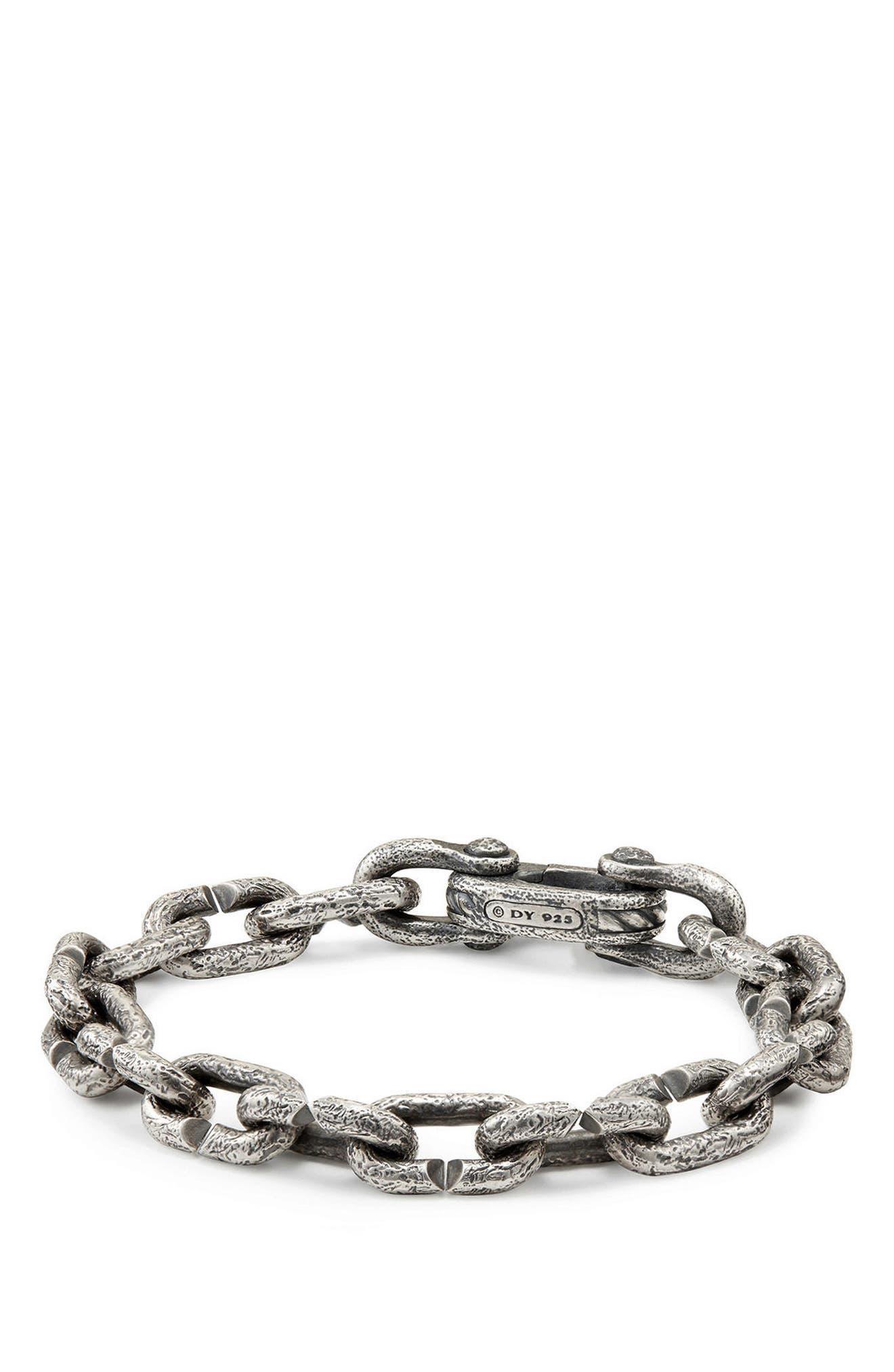 DAVID YURMAN, Shipwreck Chain Bracelet, Main thumbnail 1, color, SILVER