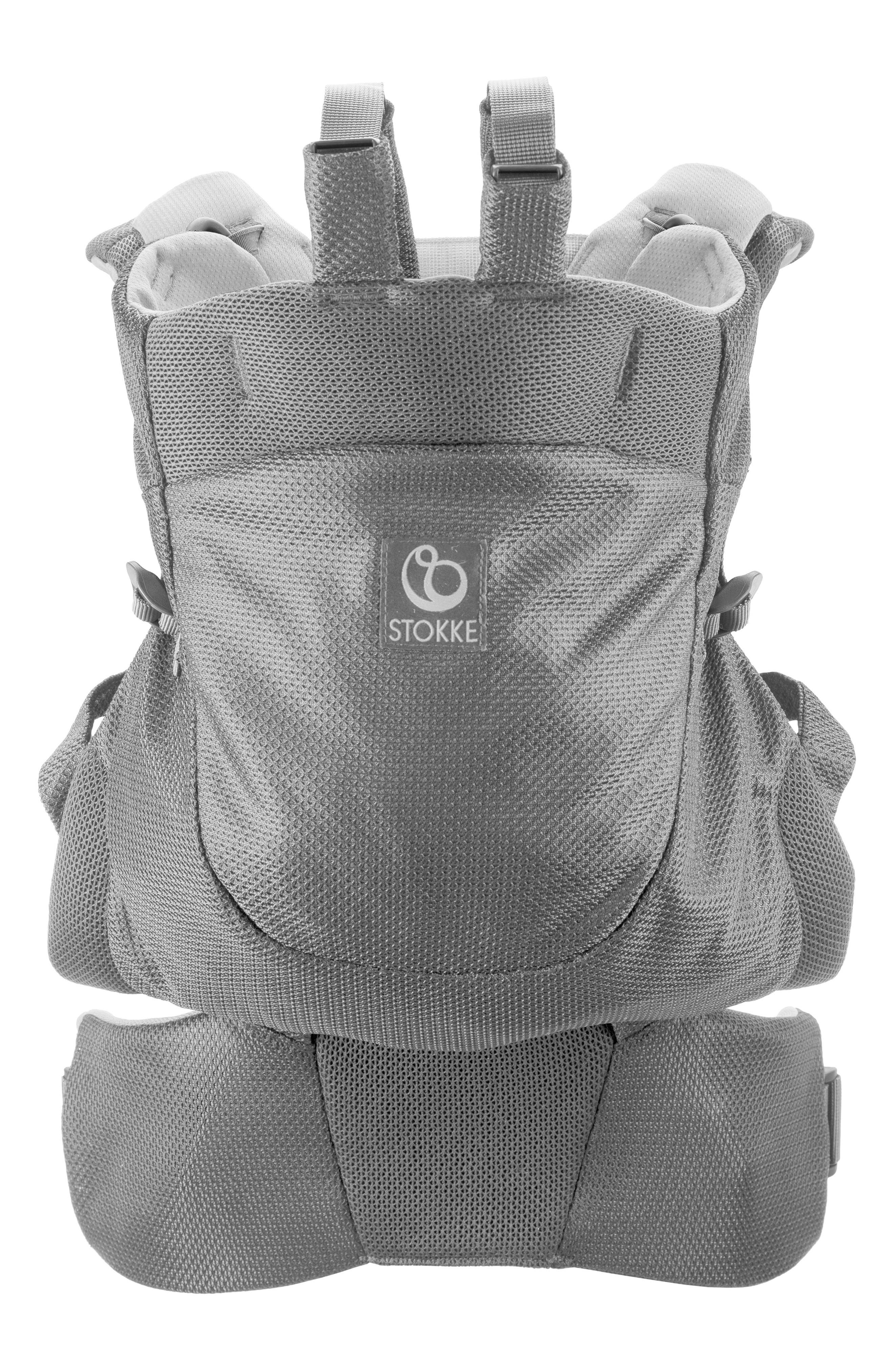 Infant Stokke Mycarrier Frontback 3In1 Baby Carrier Size One Size  Grey