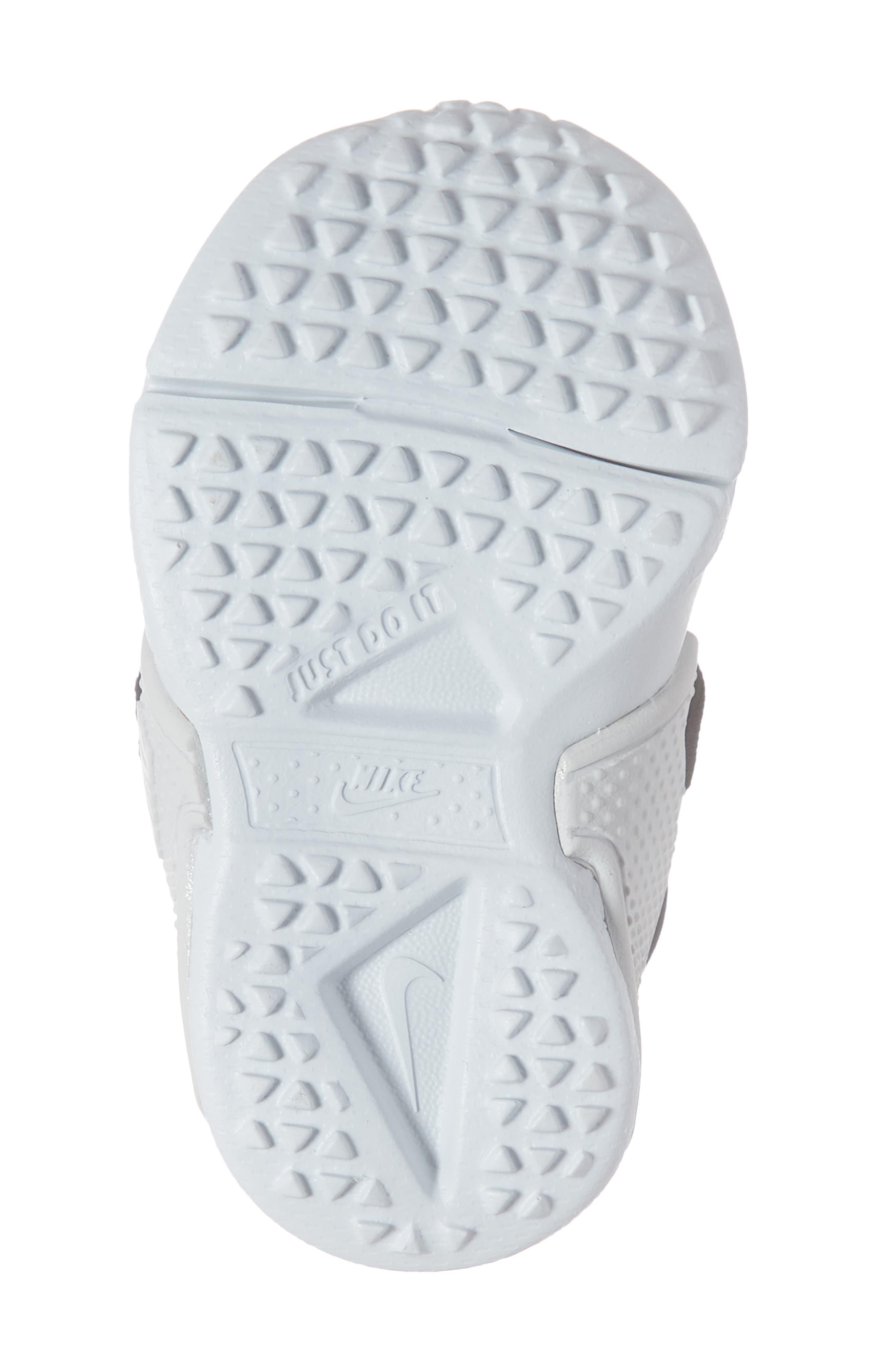 NIKE, Huarache Extreme Sneaker, Alternate thumbnail 6, color, BLACK/ METALLIC SILVER-GREY