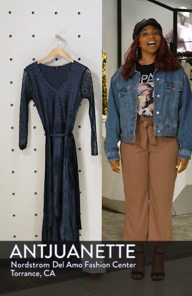 Charmeuse & Chiffon High/Low Hem Dress, sales video thumbnail