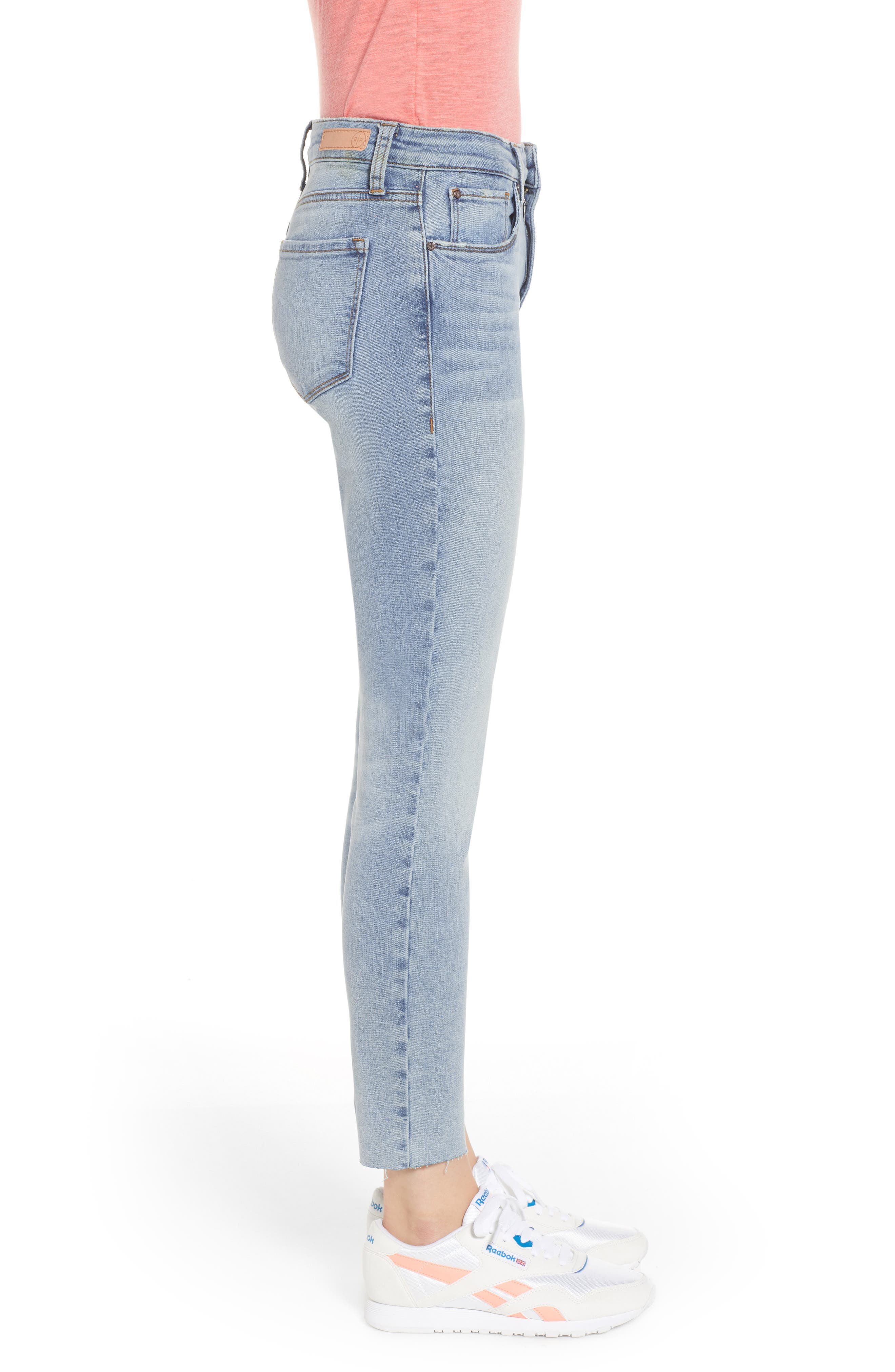 BP., High Waist Skinny Jeans, Alternate thumbnail 4, color, 400