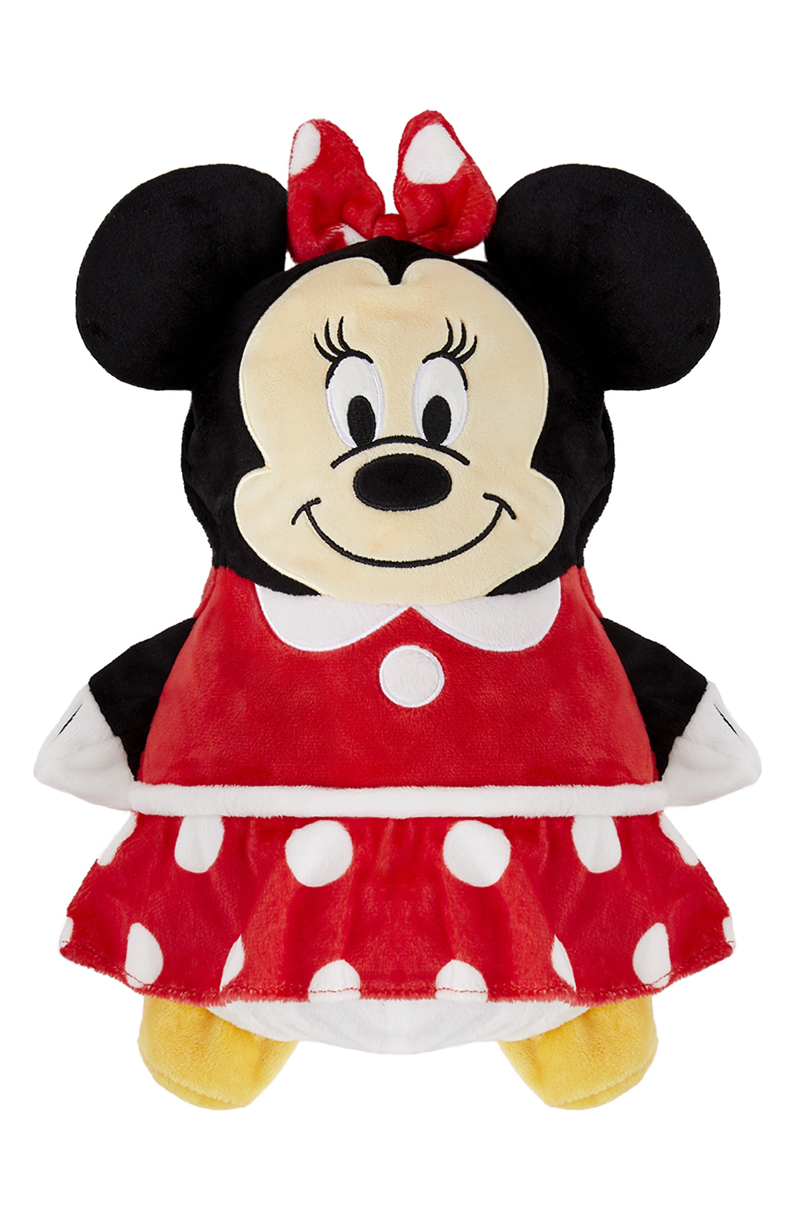CUBCOATS, Disney Minnie Mouse 2-in-1 Stuffed Animal Hoodie, Main thumbnail 1, color, 001