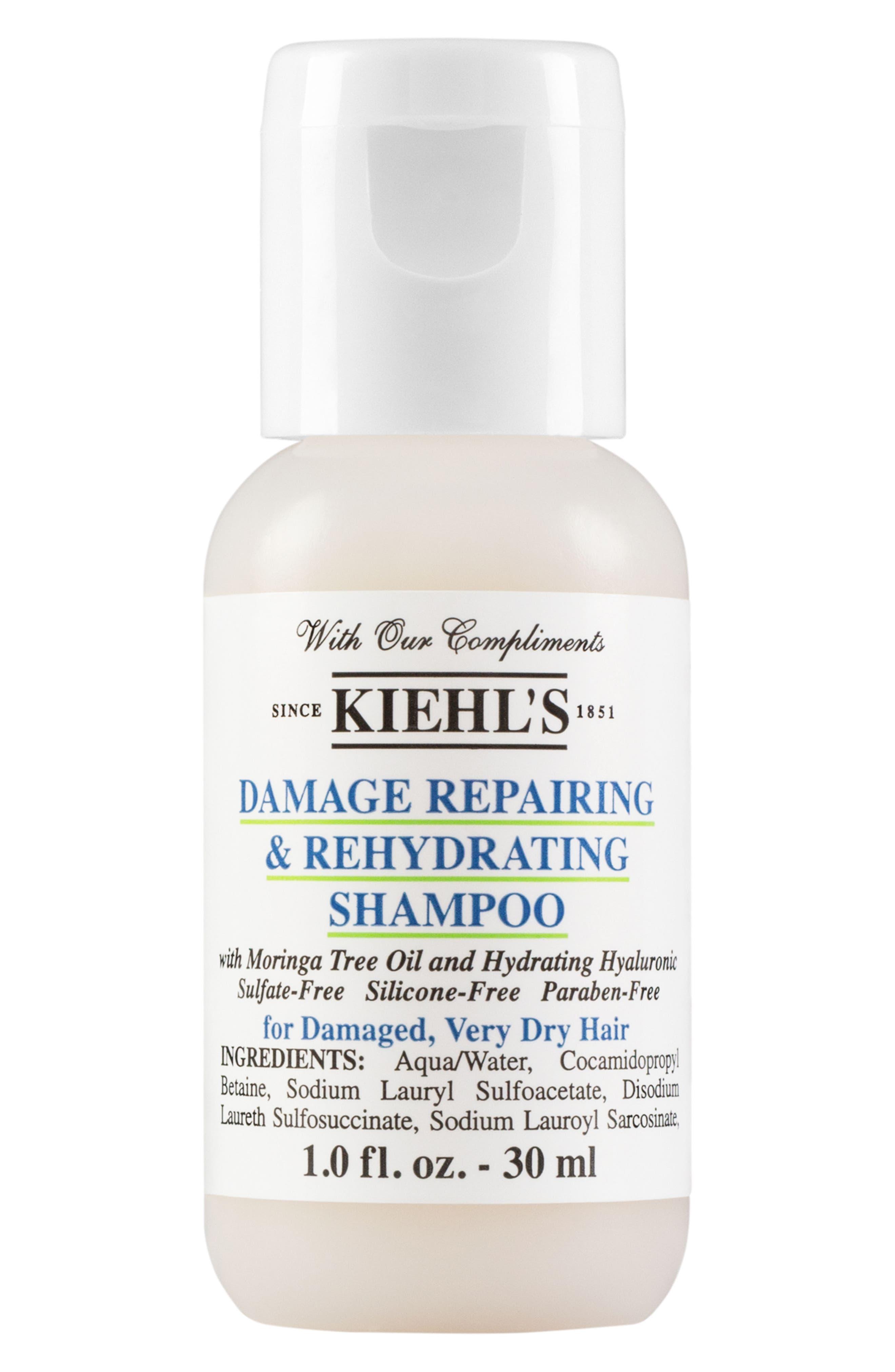 KIEHL'S SINCE 1851, Damage Repairing & Rehydrating Shampoo, Main thumbnail 1, color, NO COLOR