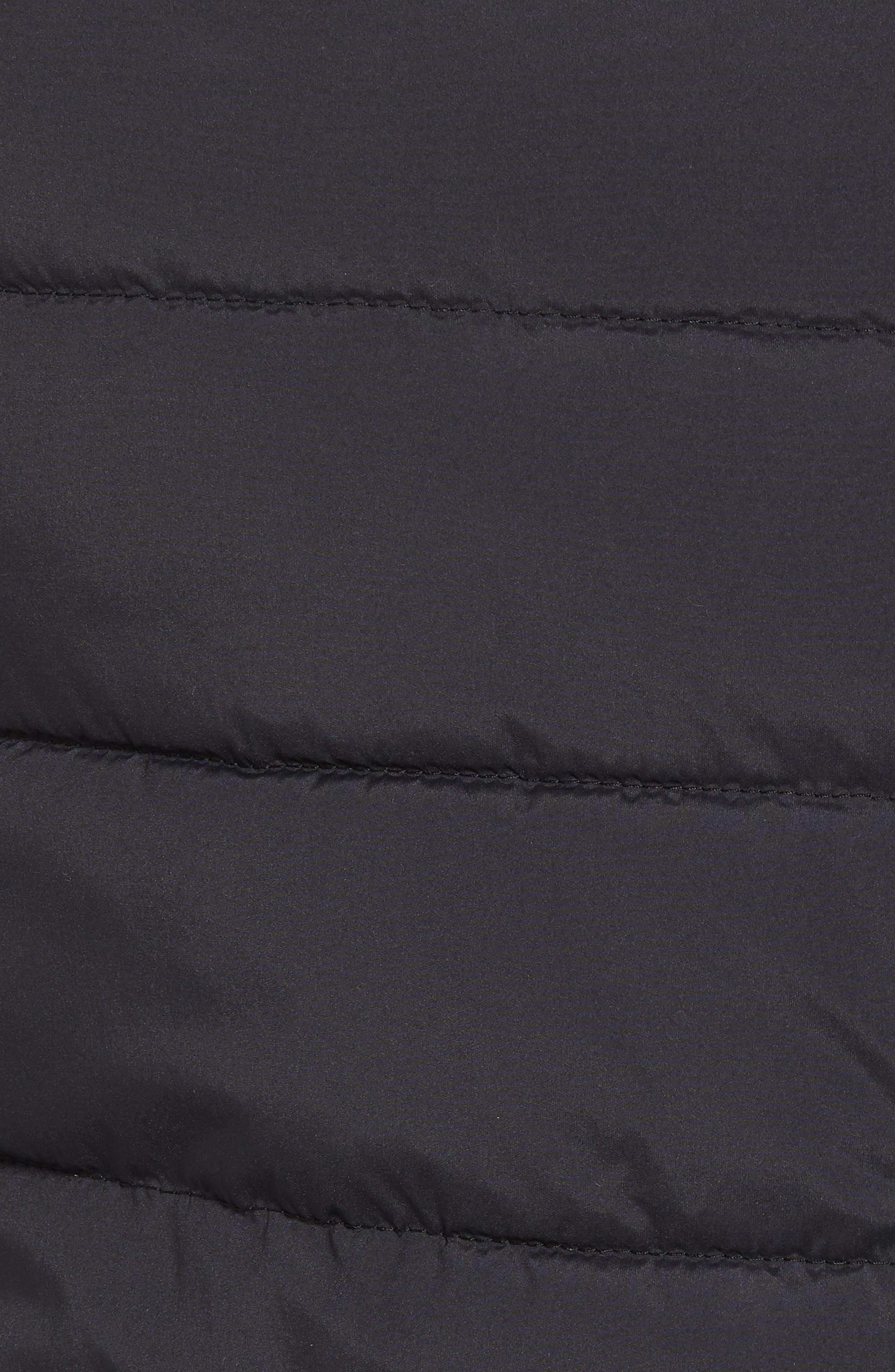 PETER MILLAR, Crown Elite Reversible Vest, Alternate thumbnail 8, color, BLACK/SAIL