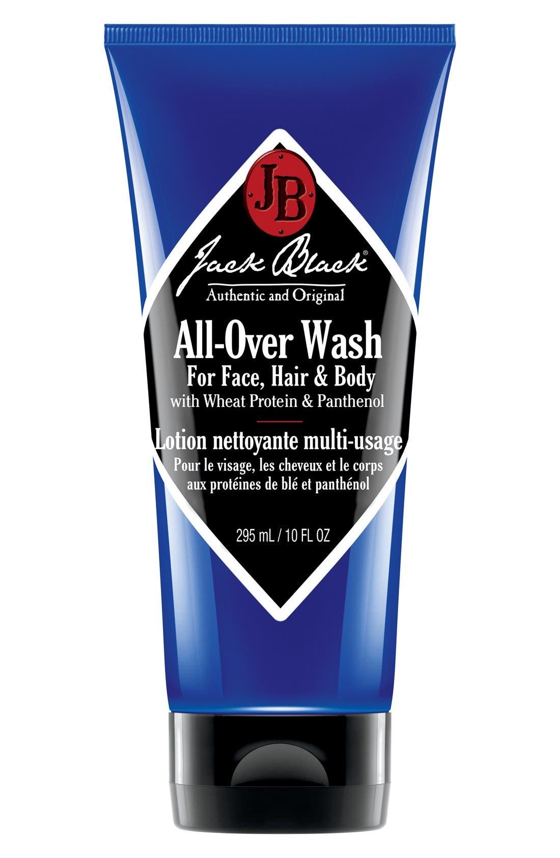 JACK BLACK, All-Over Wash, Alternate thumbnail 2, color, NO COLOR