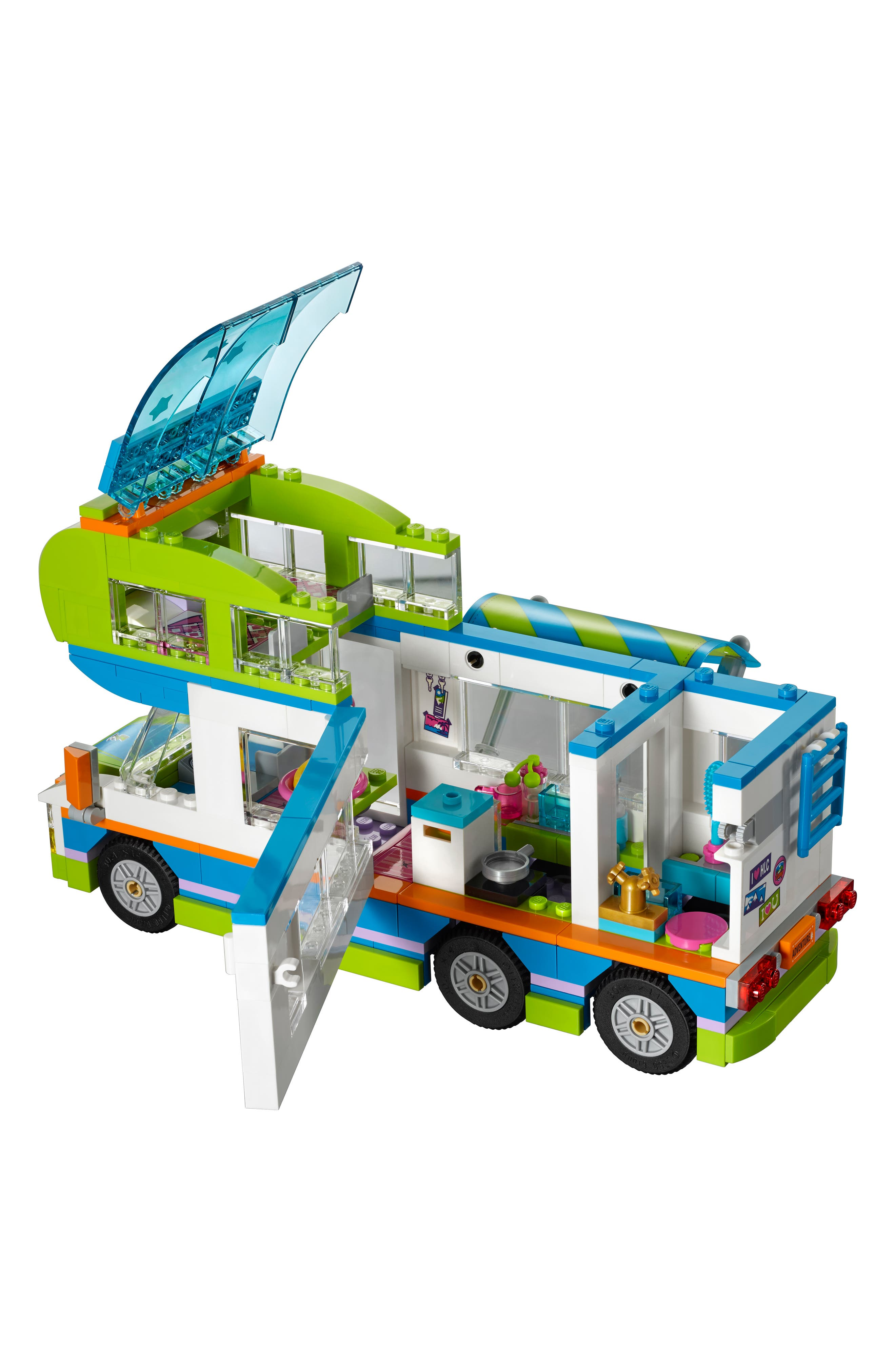 LEGO<SUP>®</SUP>, Friends Mia's Camper Van - 41339, Alternate thumbnail 3, color, MULTI
