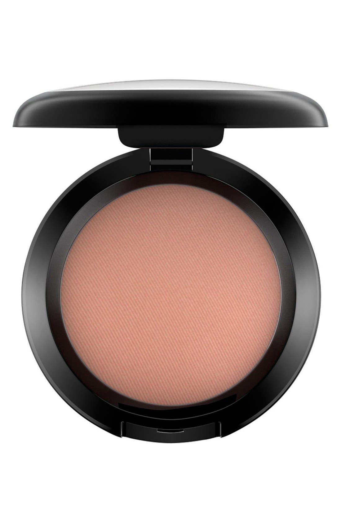 MAC COSMETICS MAC Powder Blush, Main, color, GINGERLY (ST)