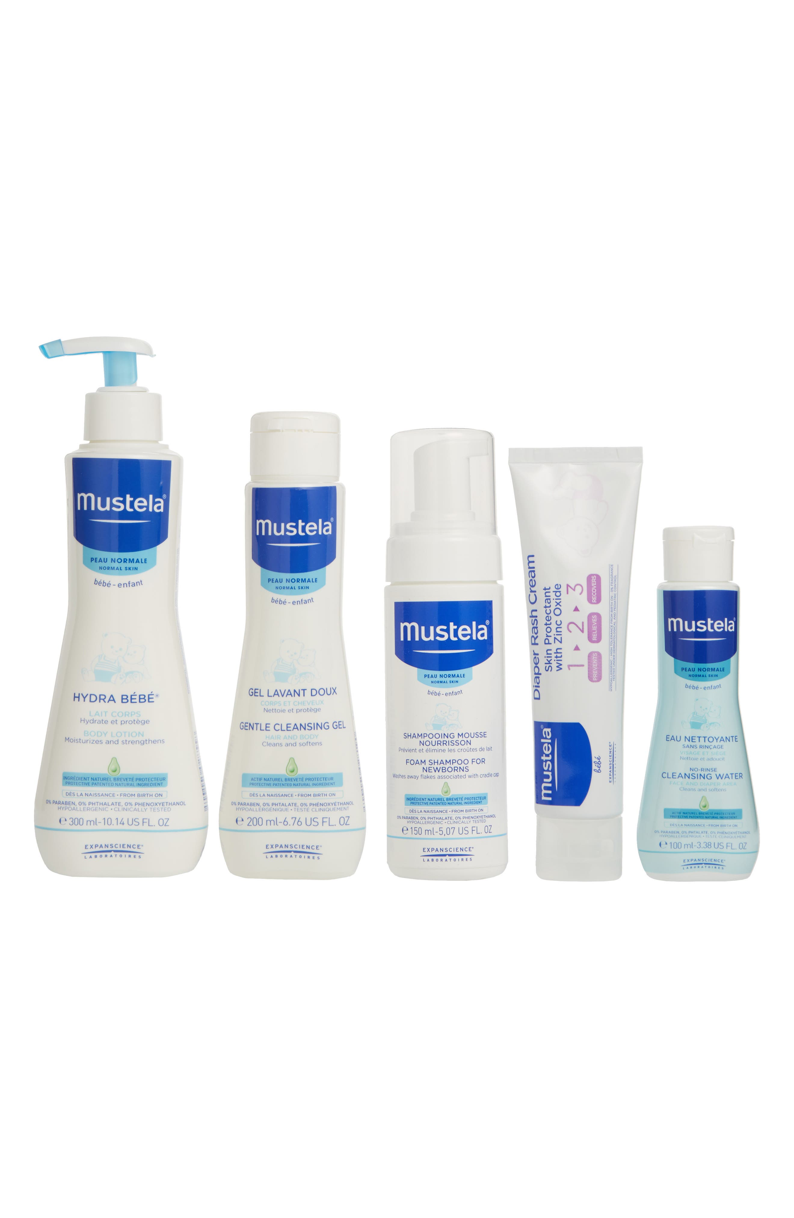 MUSTELA<SUP>®</SUP>, Newborn Arrival Gift Set, Main thumbnail 1, color, WHITE