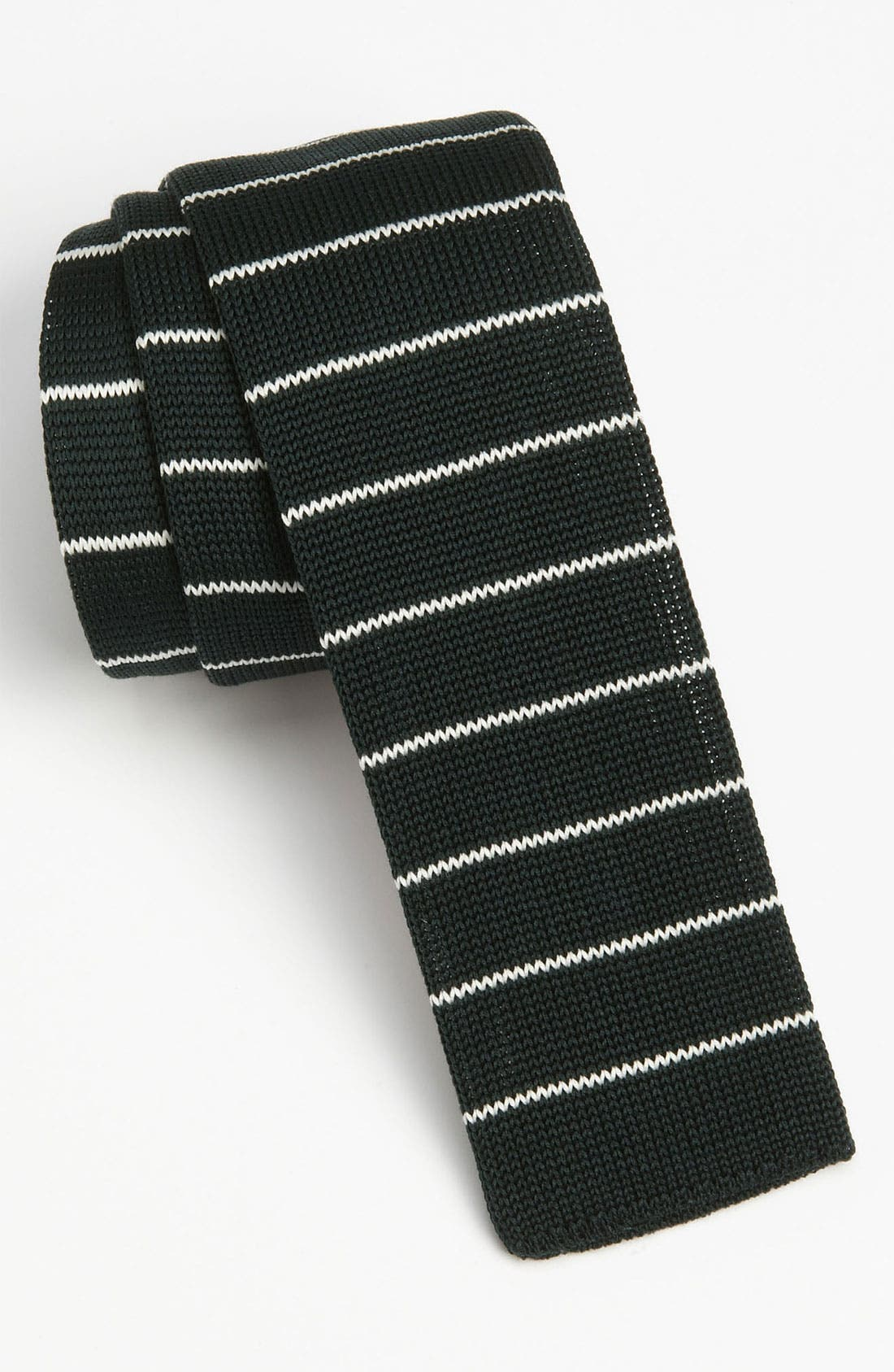 BOSS HUGO BOSS Cotton Knit Tie, Main, color, 301