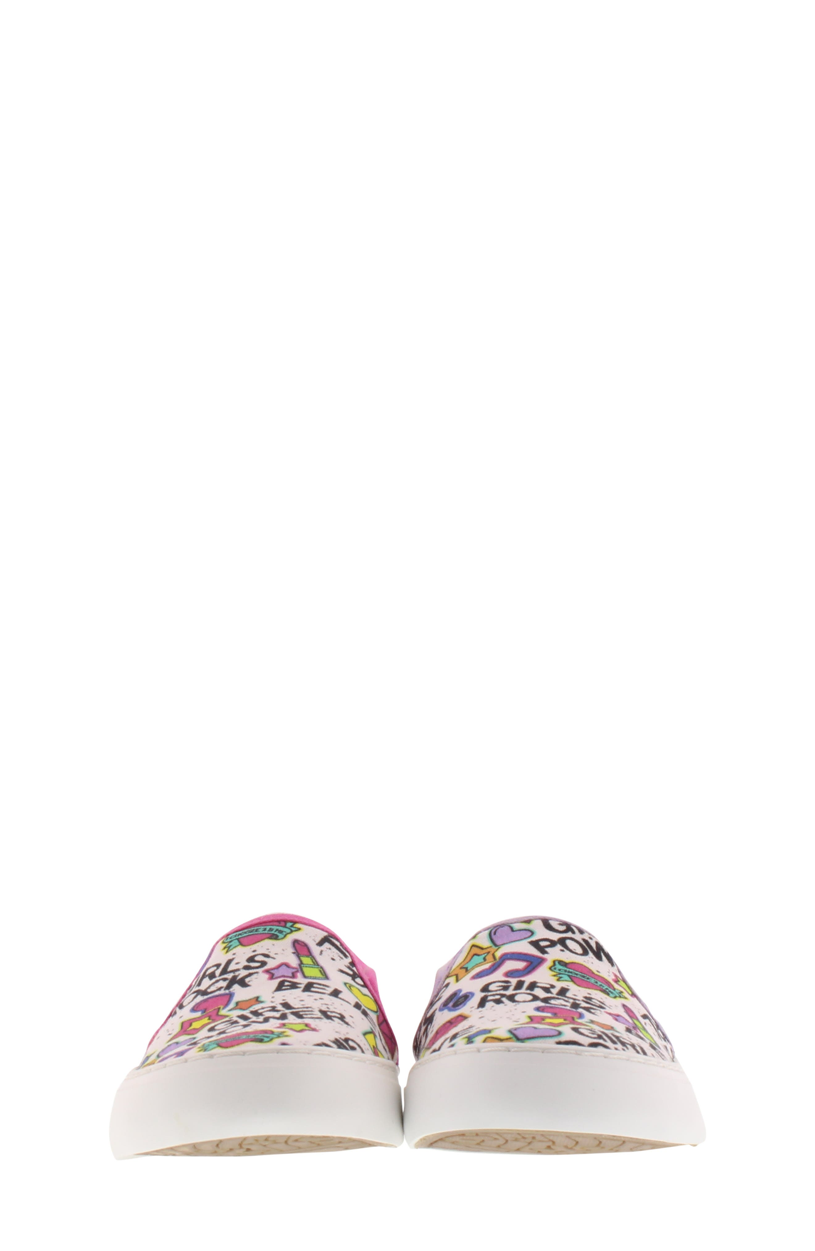 CHOOZE, Move Motion Slip-On Sneaker, Alternate thumbnail 4, color, PINK LAVENDER